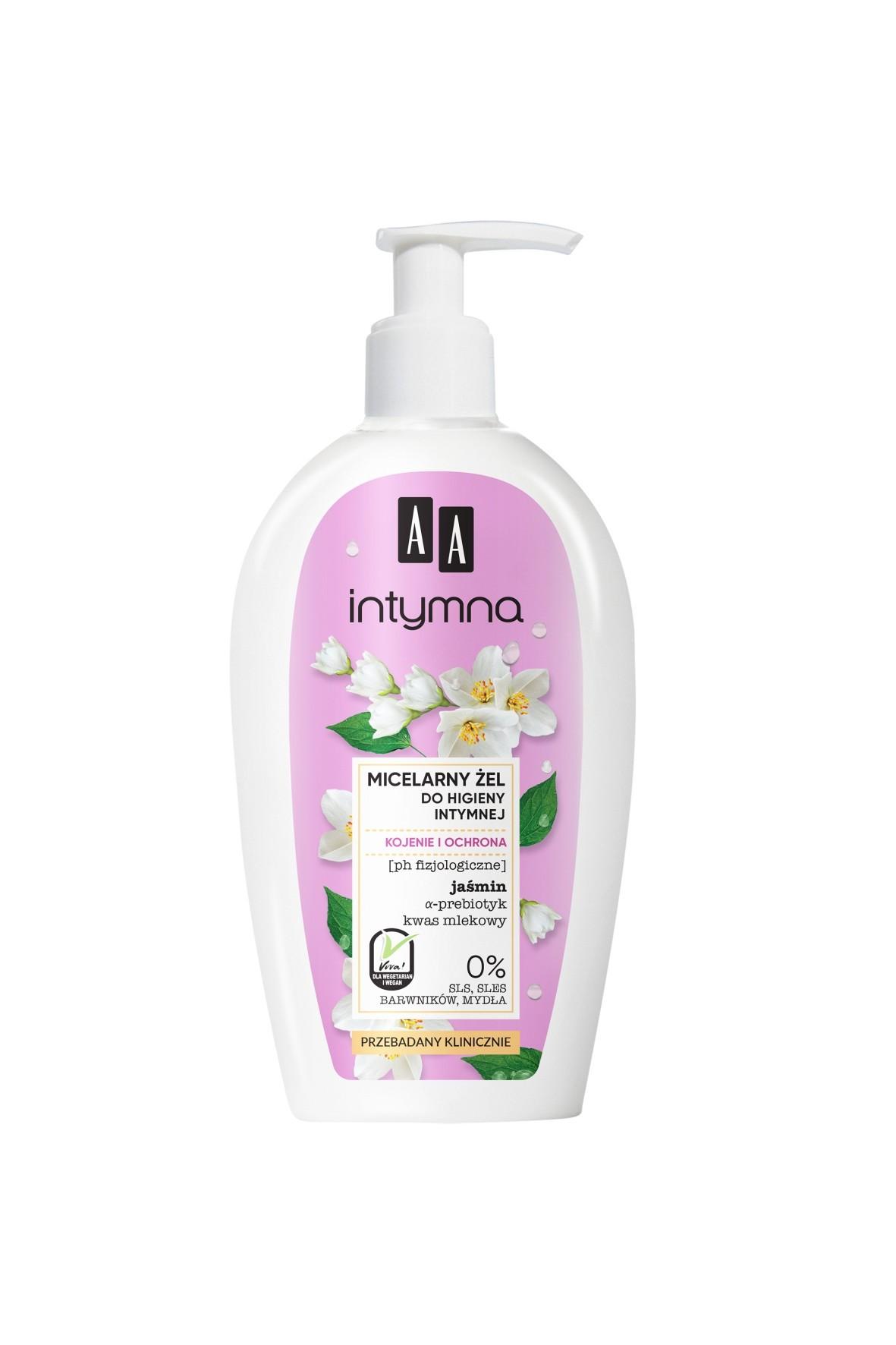 AA Intymna micelarny żel do higieny intymnej - kojenie i ochrona 300 ml