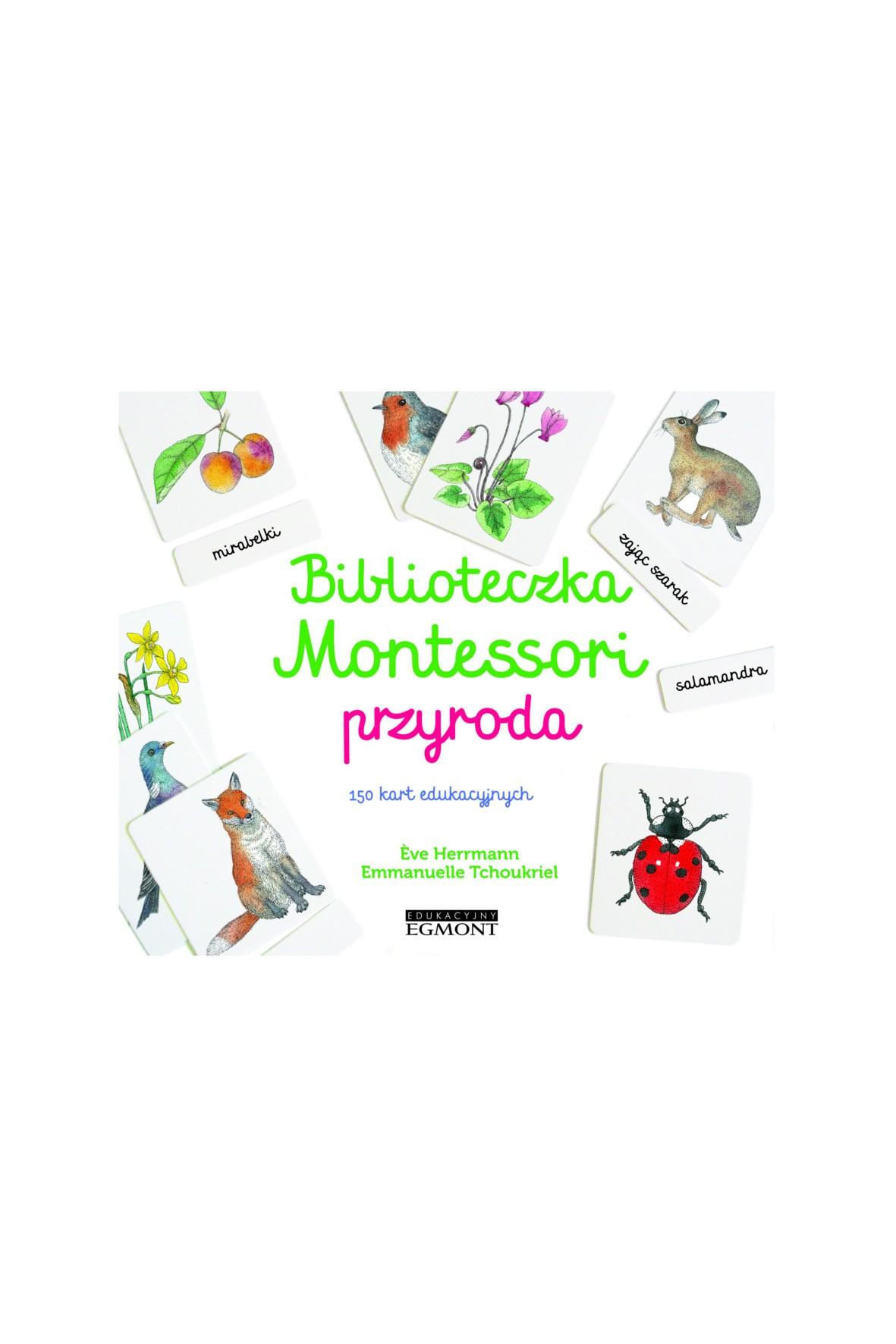 Biblioteczka Montessori. Przyroda- karty edukacyjne