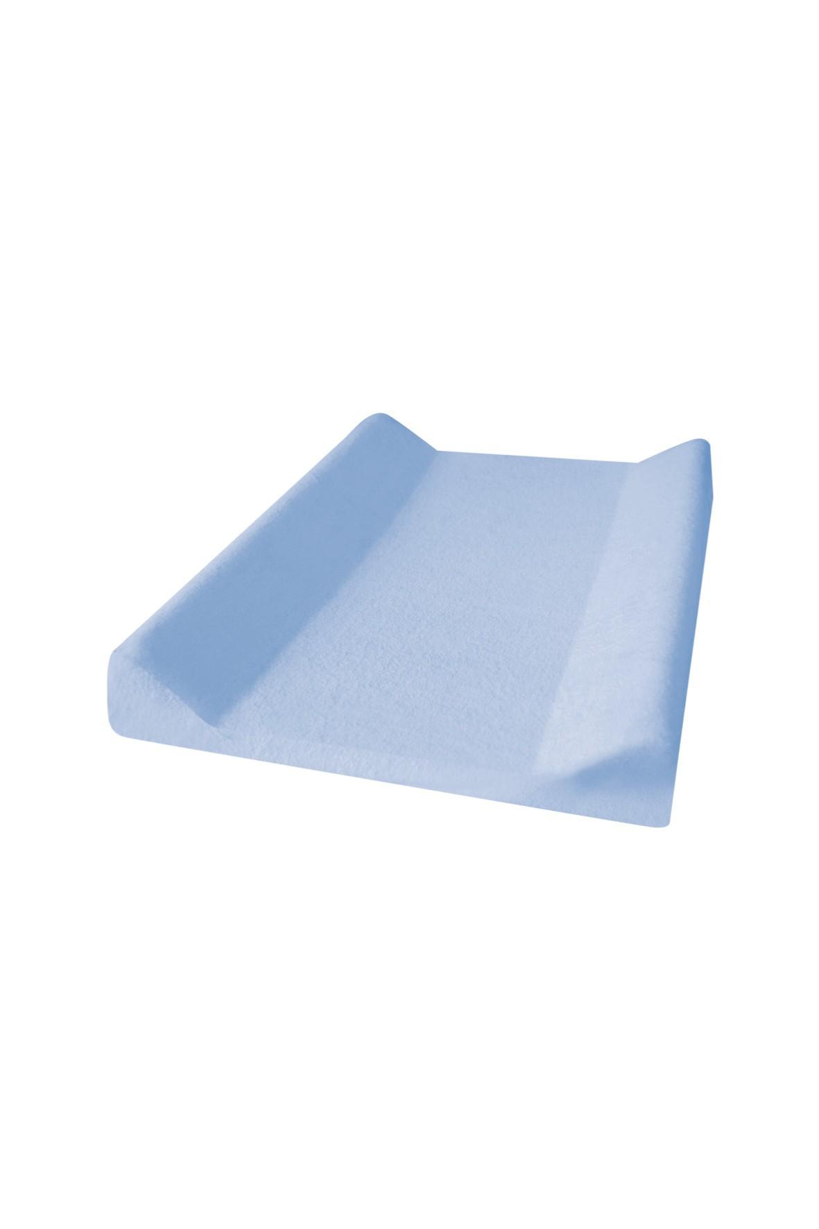 Bawełniany pokrowiec na przewijak- niebieski 50/60x70/80cm