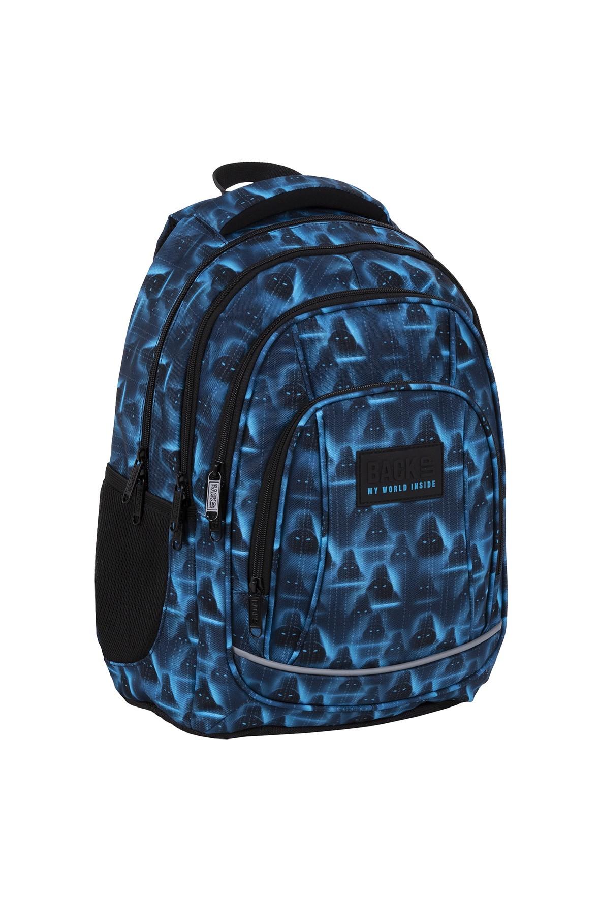Plecak BackUp chłopięcy we wzory
