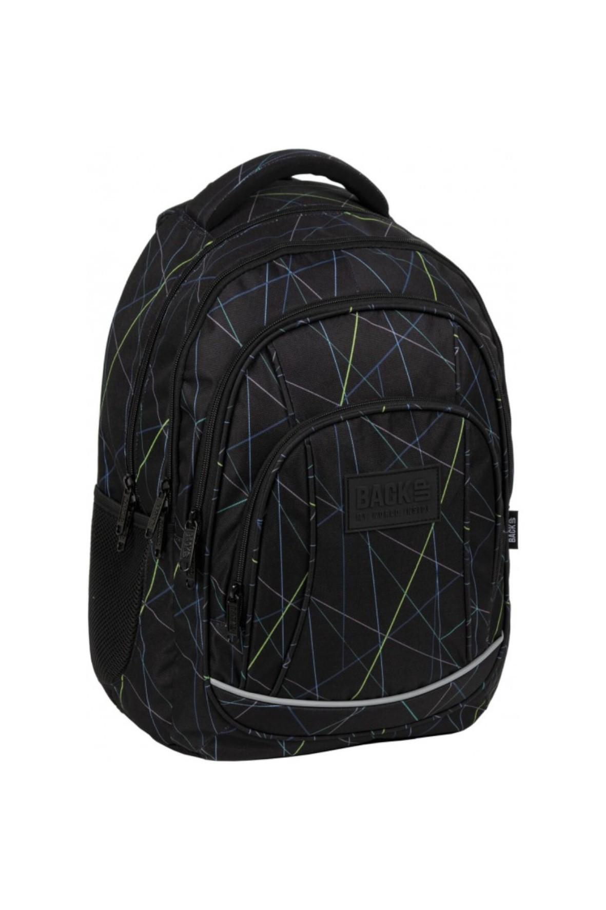 Plecak szkolny dla chłopca BackUp Laser