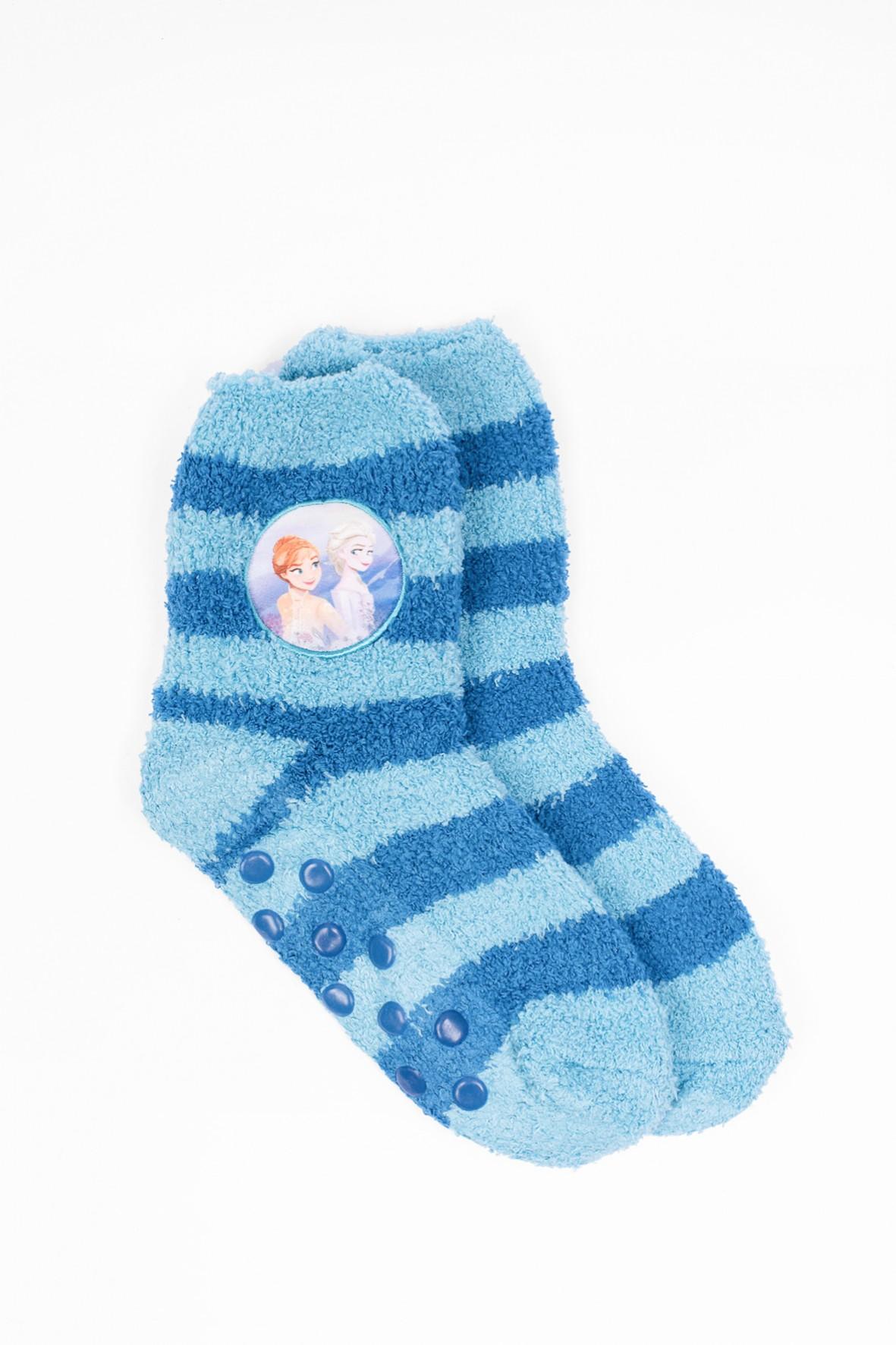 Skarpety Frozen- niebieskie z ABSem