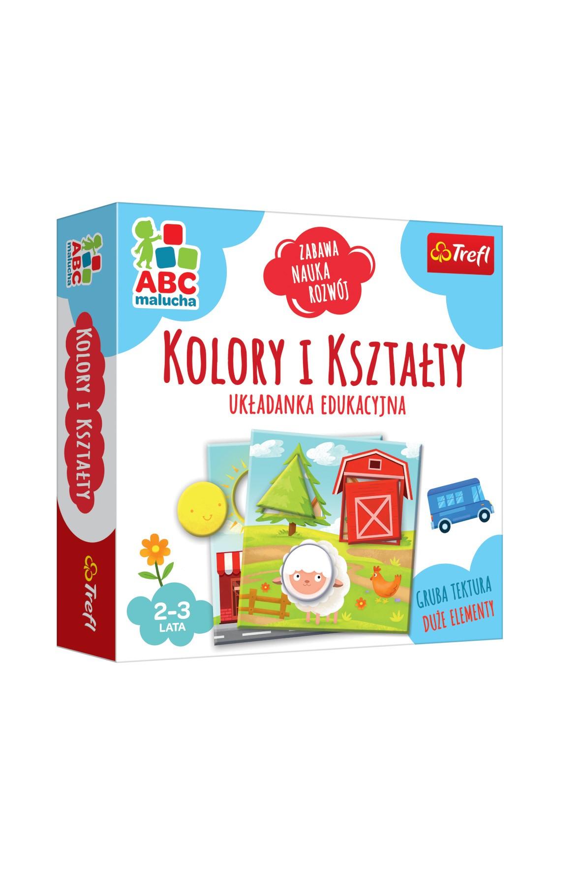 Gra Kolory i kształty/ABC Malucha 2-3lata