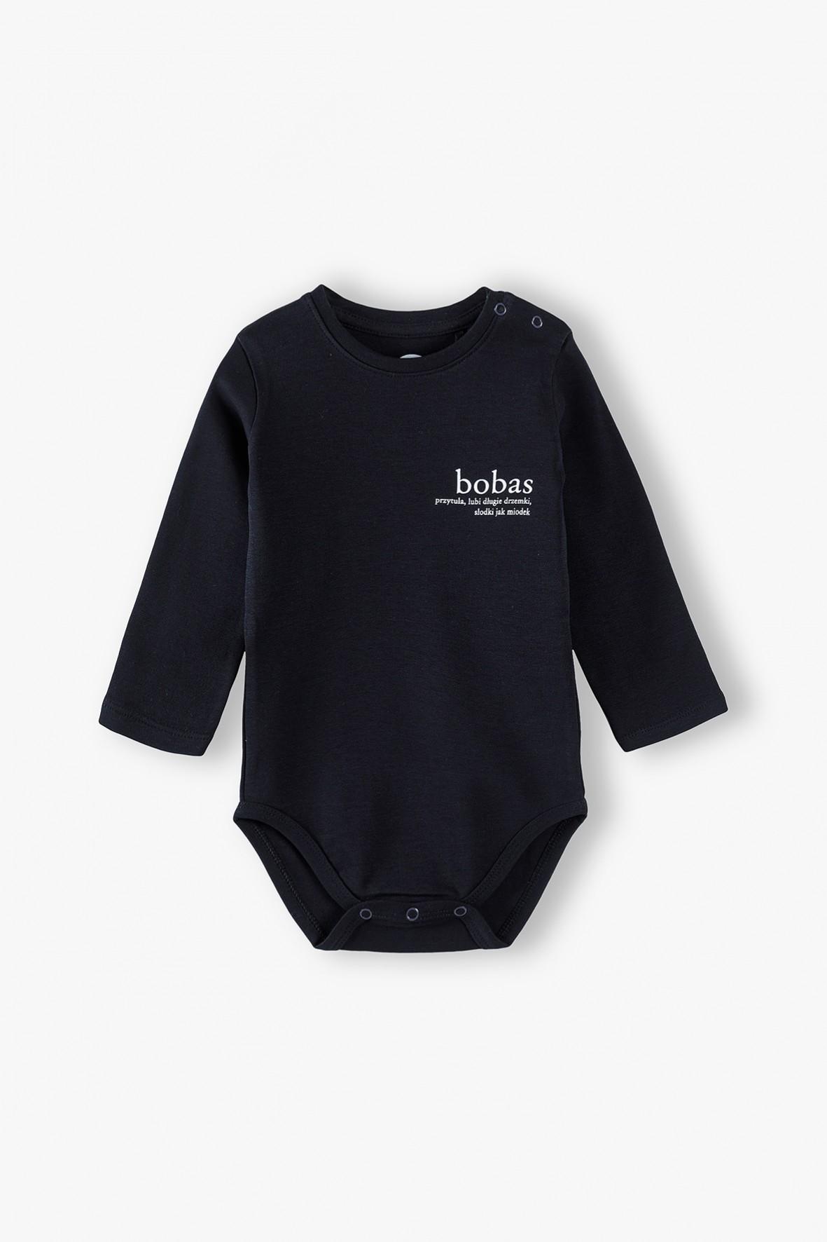 Bawełniane body niemowlęce BOBAS - ubrania dla rodziny