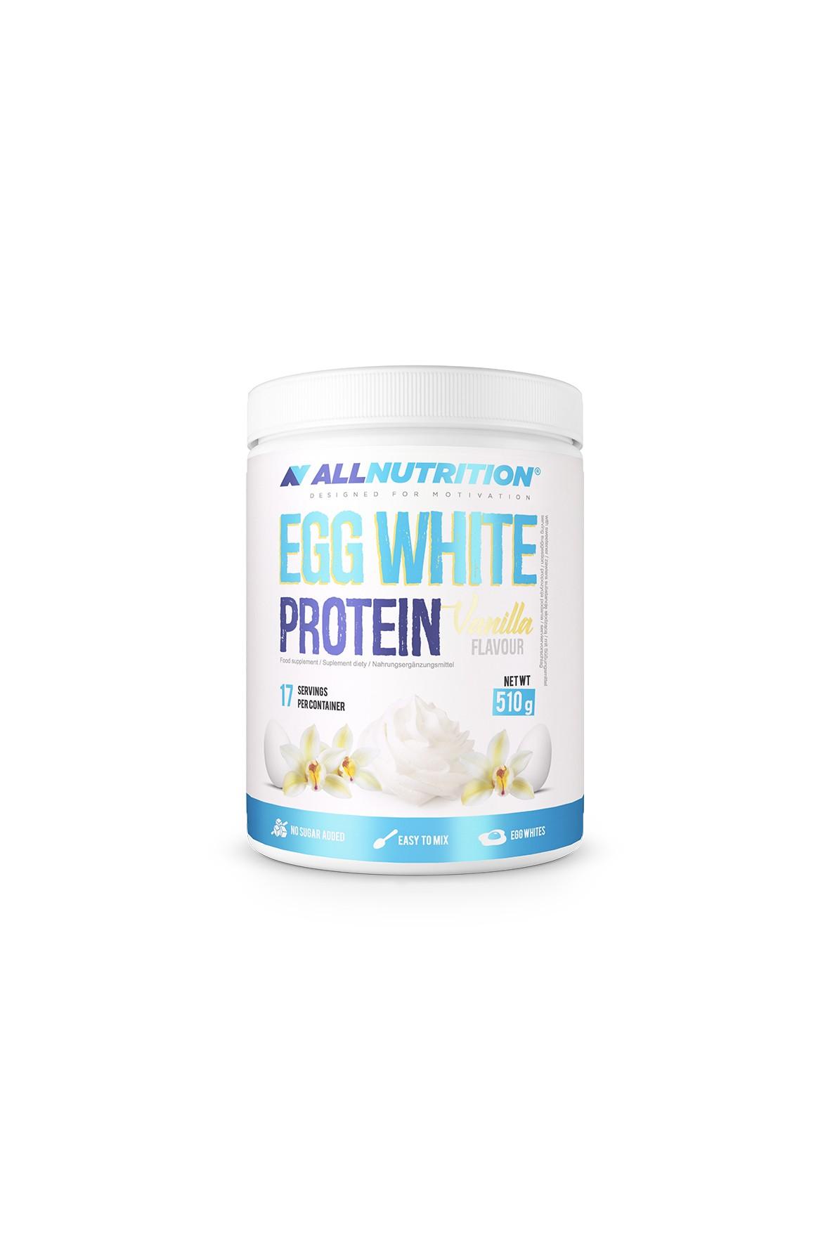 Suplementy diety - Allnutrition  Egg White Protein  - 510 g  Vanilla