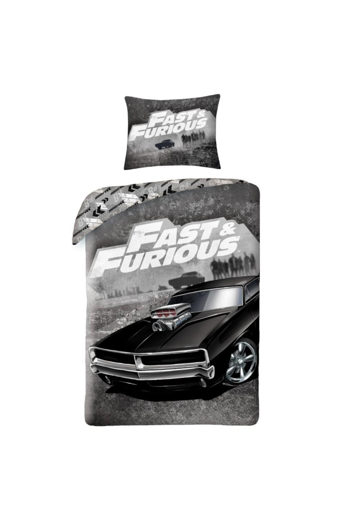 Pościel Fast&Furious 140x200 cm