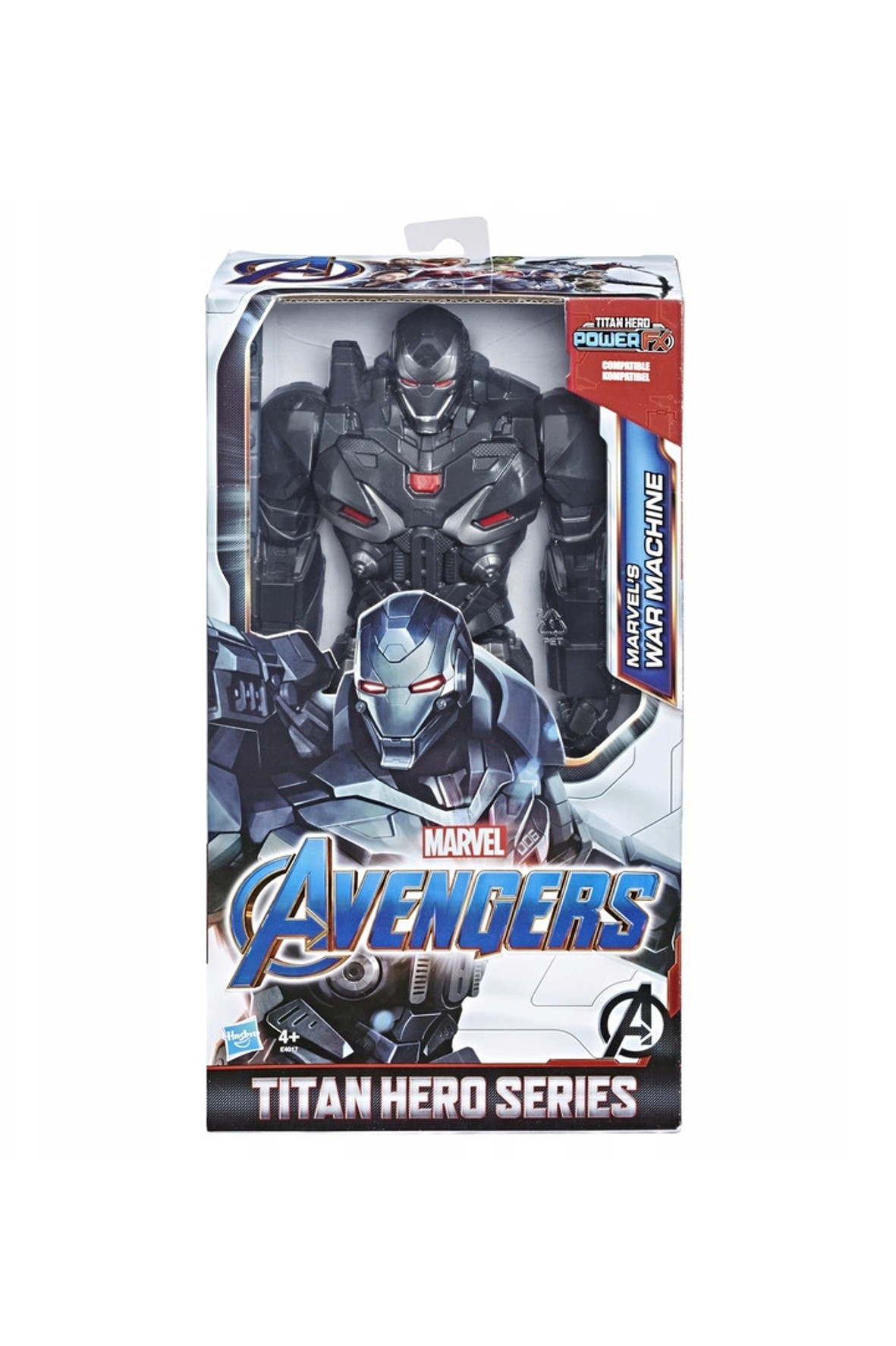 Avengers Quantum War Machine Tytan 30cm 4+