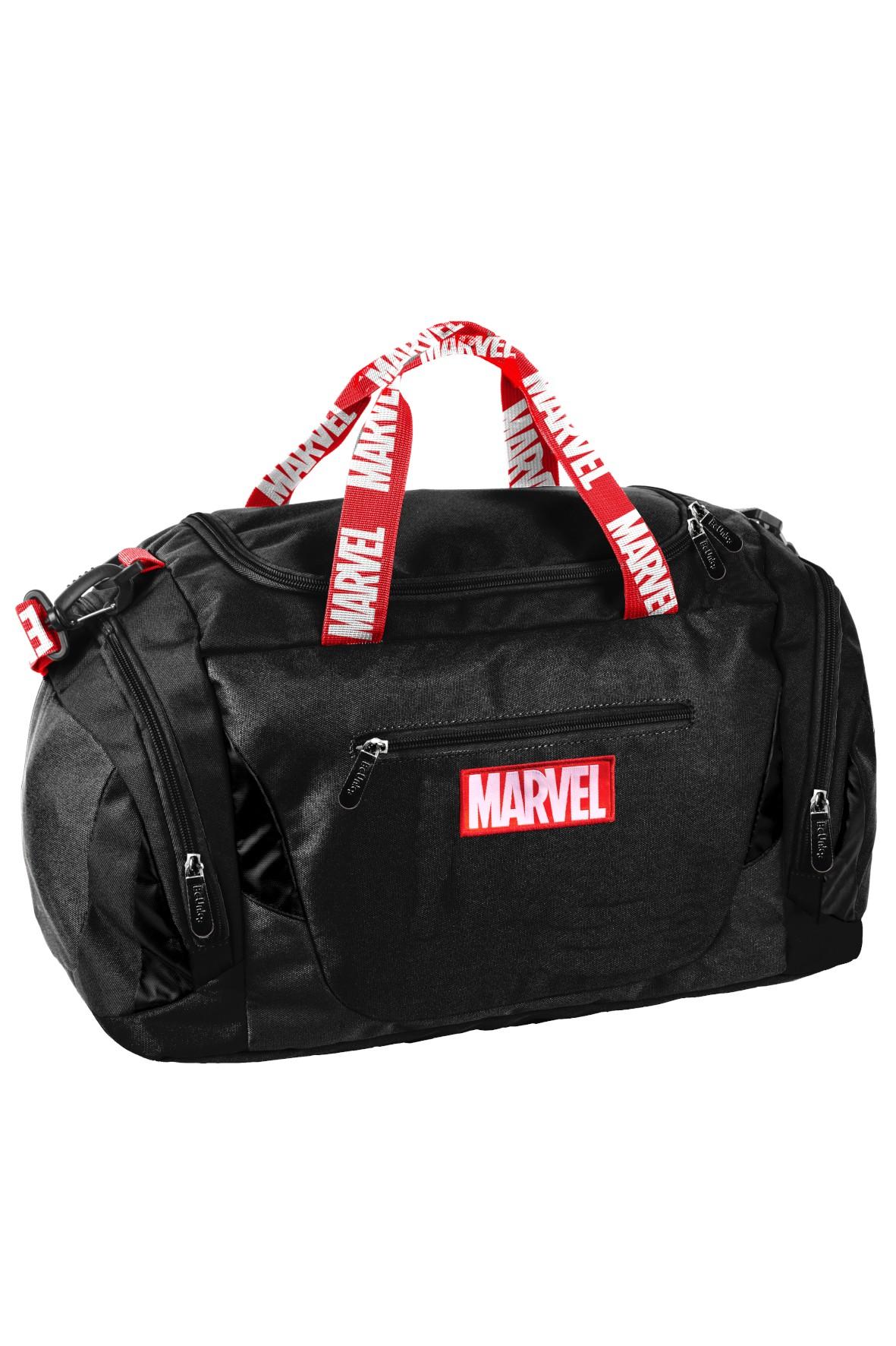 Torba sportowa czarna Marvel