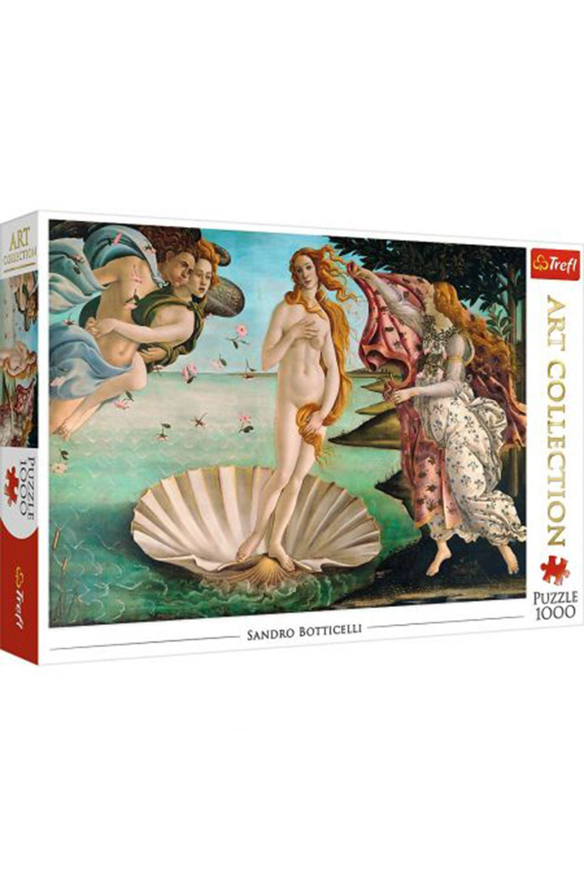 Puzzle  Art Collection - Narodziny Wenus, Sandro Botticelli - 1000 elementów