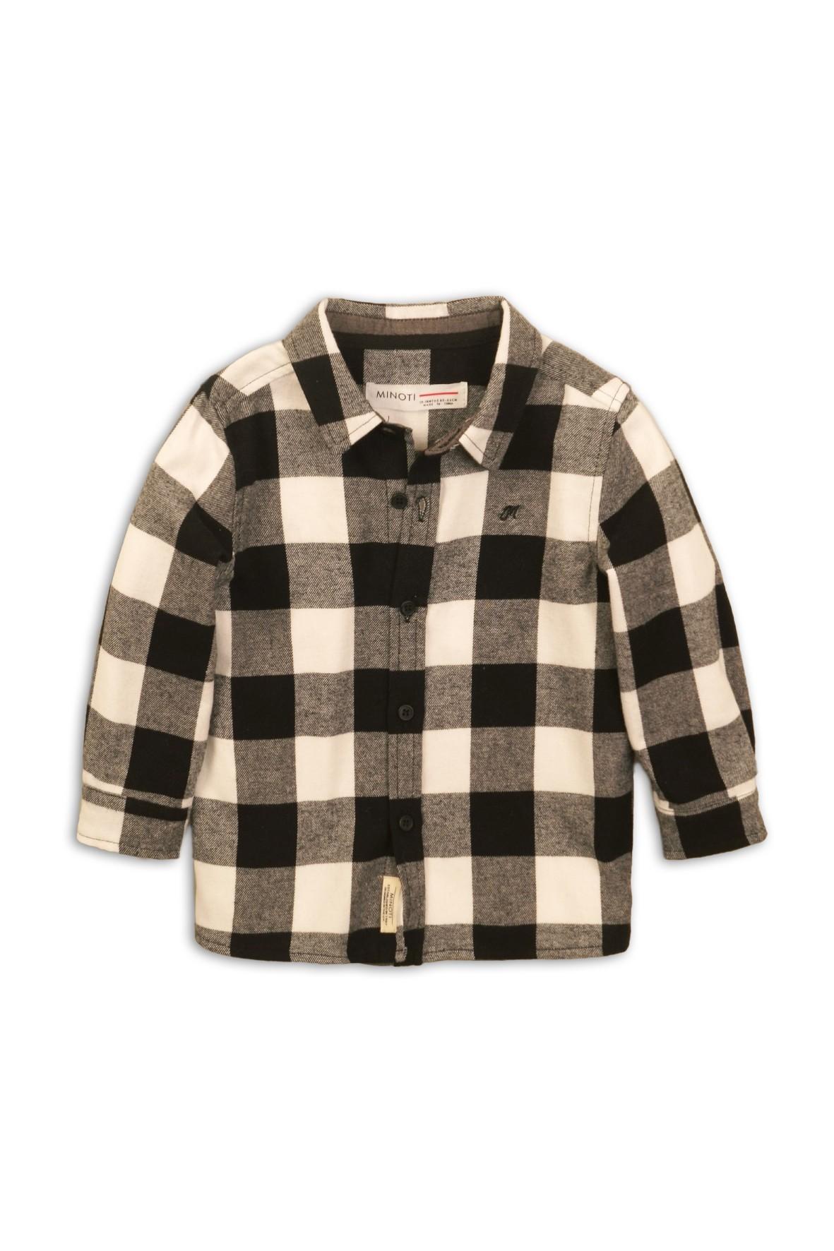 Koszula chłopięca flanelowa w kratkę