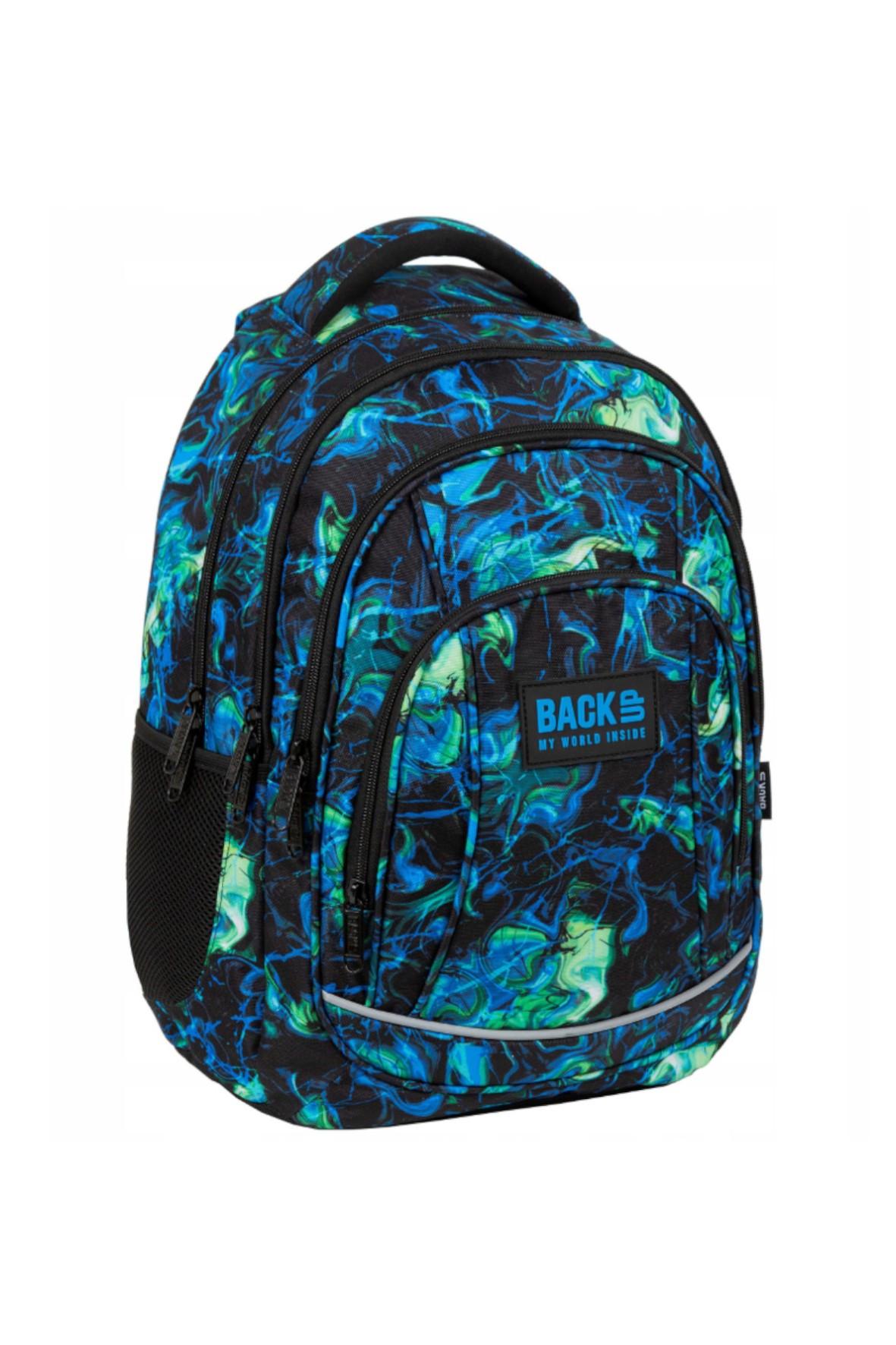 Plecak szkolny BackUp Ultra- 4komory