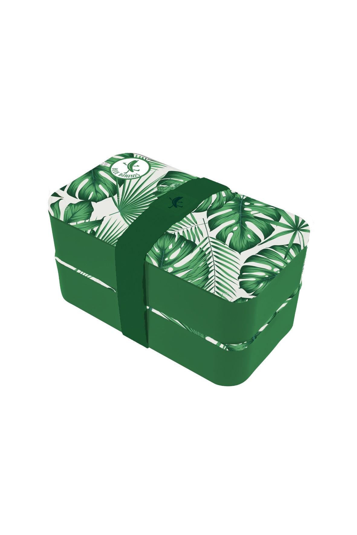 Pudełko śniadaniowe z przegródkam Monstera 11,5x18,5x10cm
