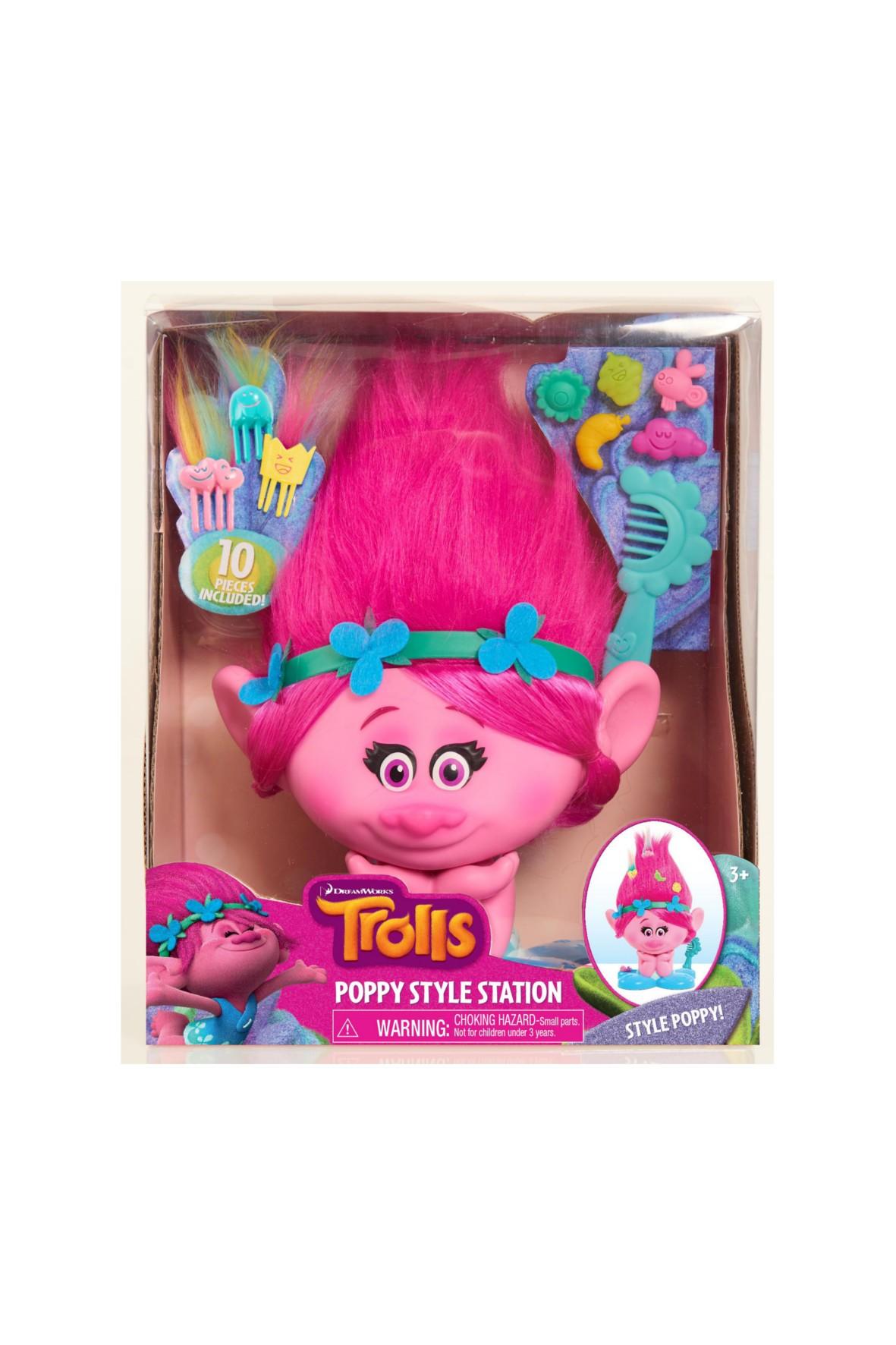 Trolle Poppy głowa do stylizacji