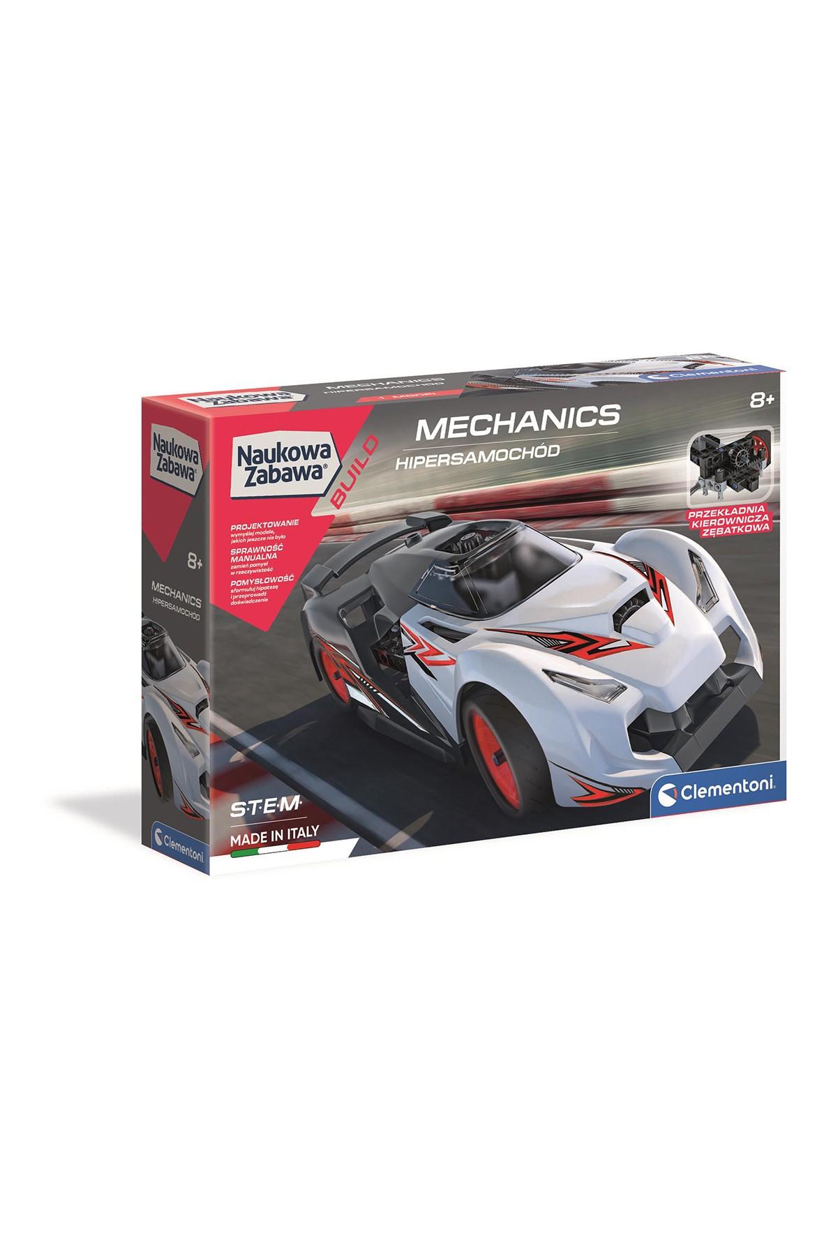 Labolatorium mechaniki samochód wyścigowy wiek 8+