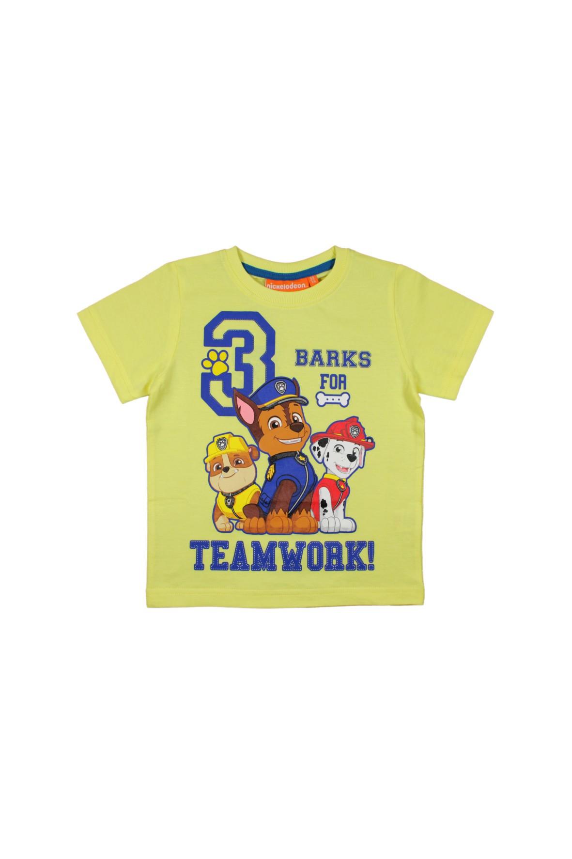 T-shirt chłopięcy Psi Patrol 1I34ET