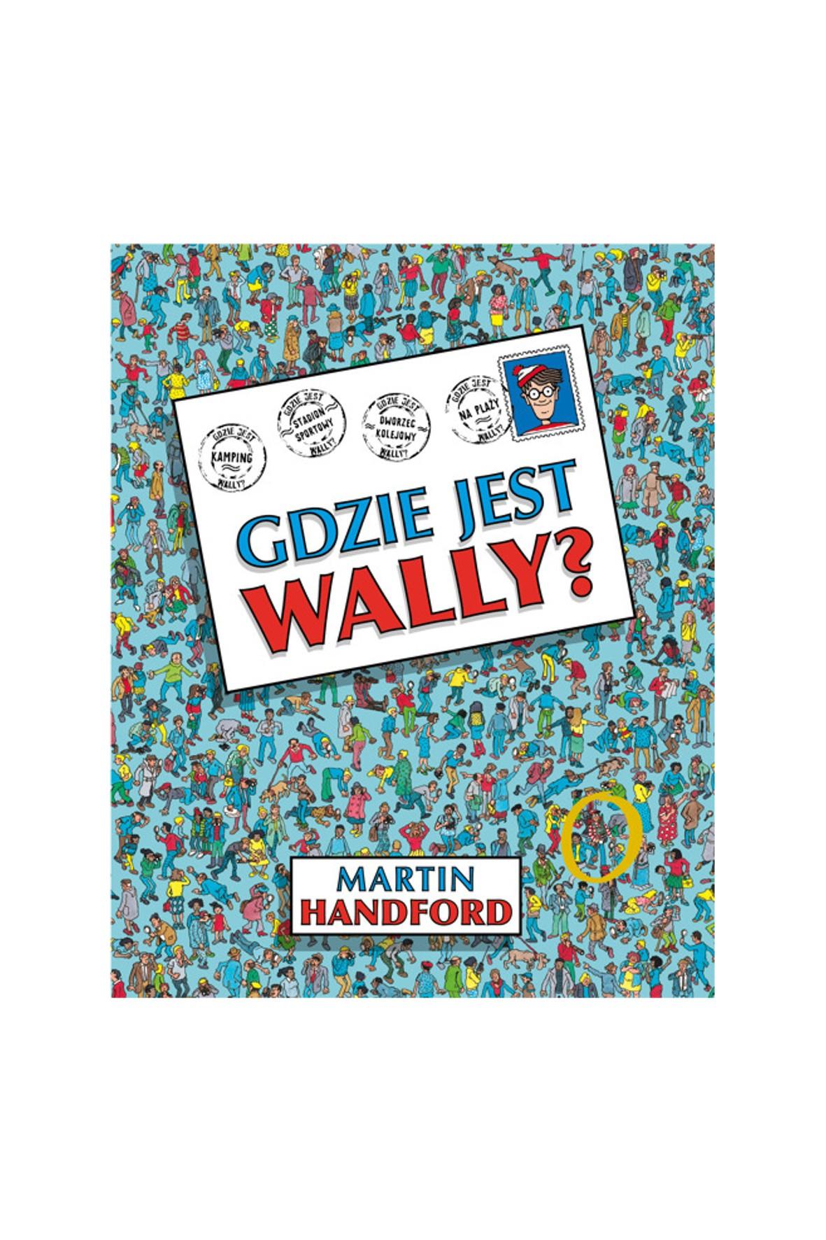 """Książka dla dzieci """"Gdzie jest Wally?""""- M. Handford"""