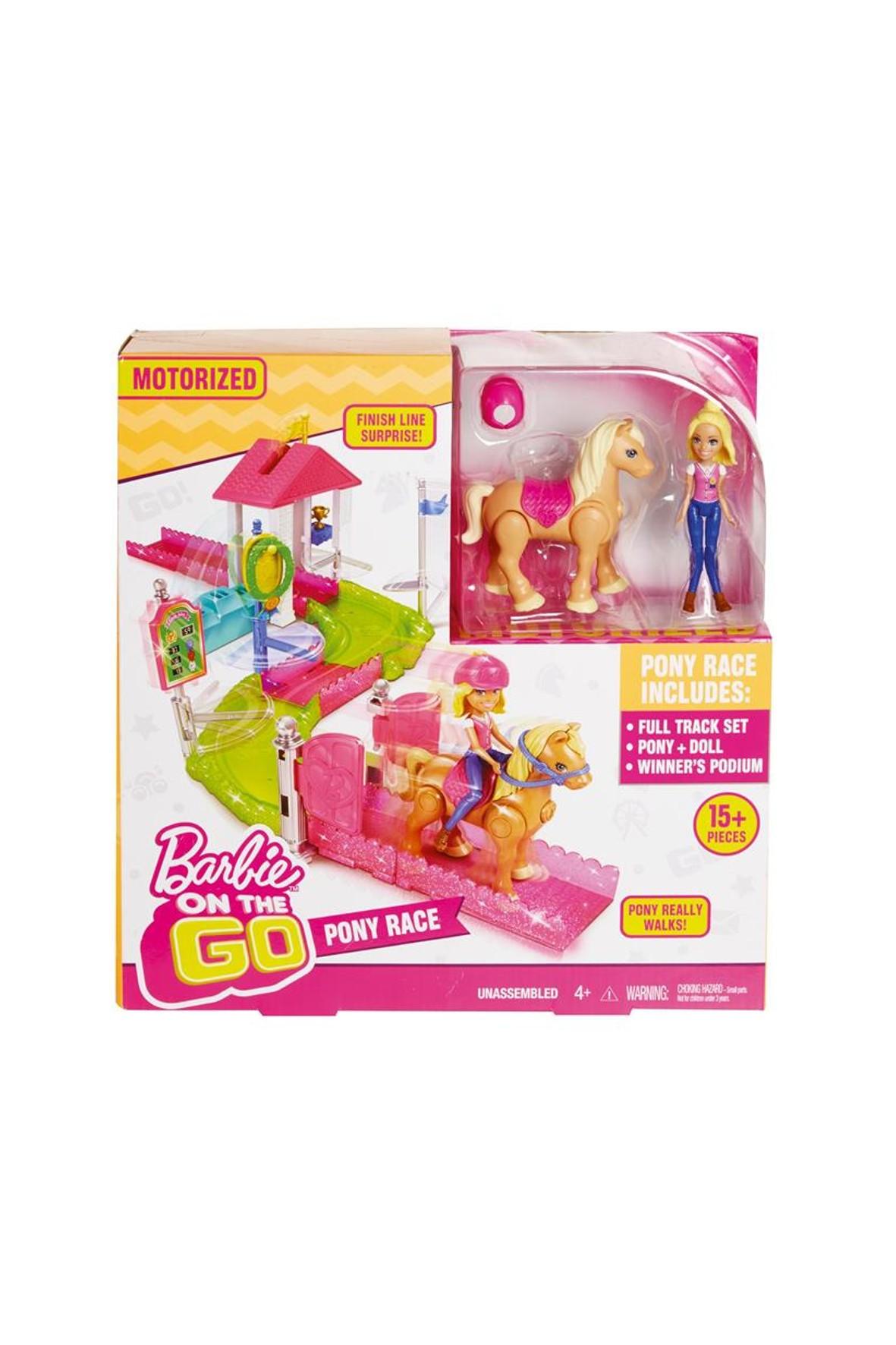 Barbie On the Go Wyścig Kucyków