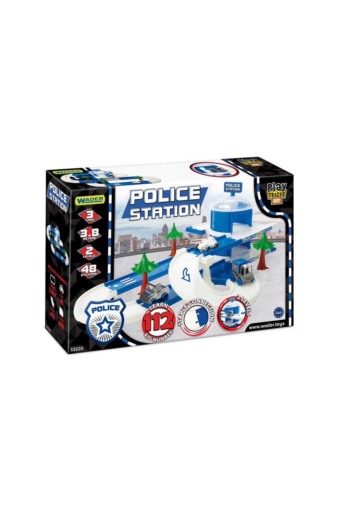 Zabawka Play Tracks City - Posterunek Policji