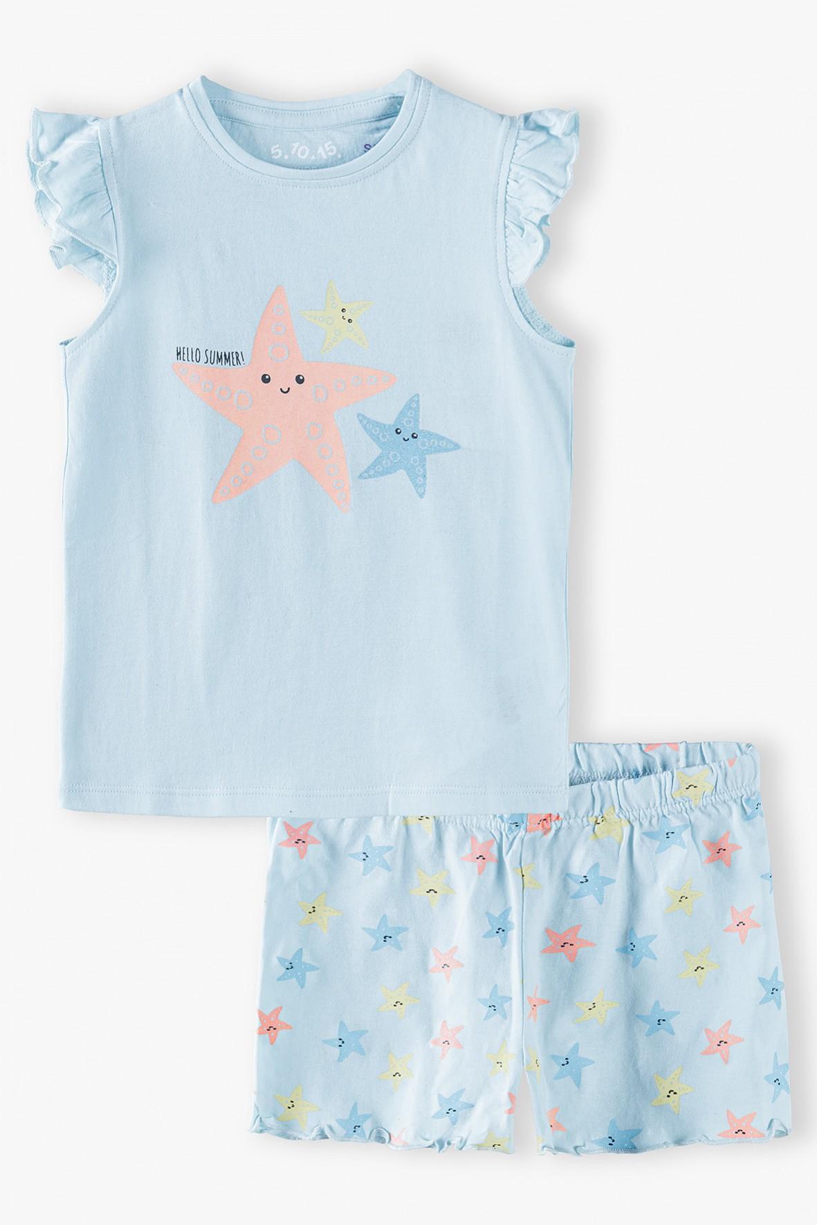 Bawełniana piżama dla dziewczynki