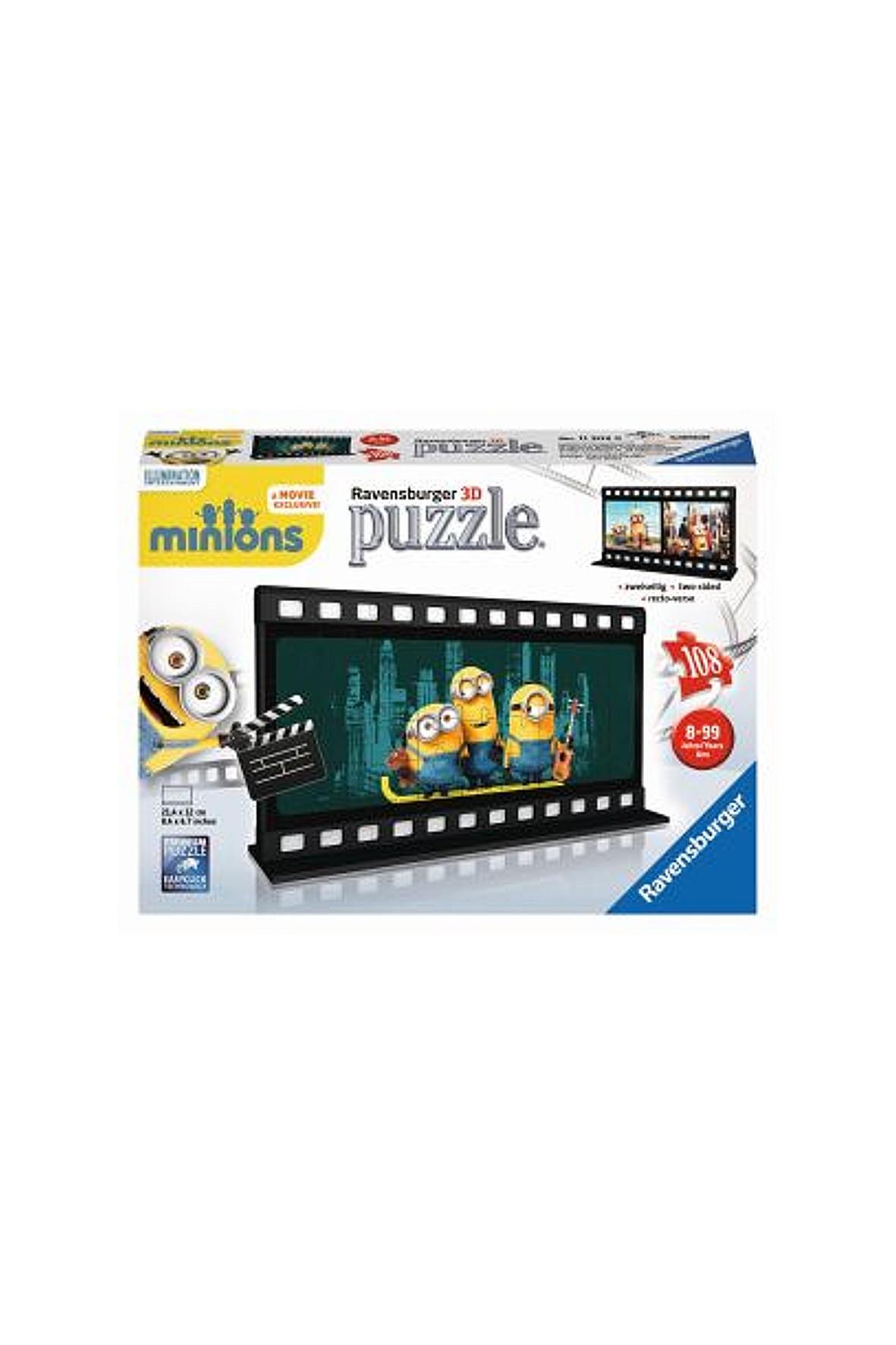 Puzzle Minionki Ravensburger - Kadr z filmu 108el