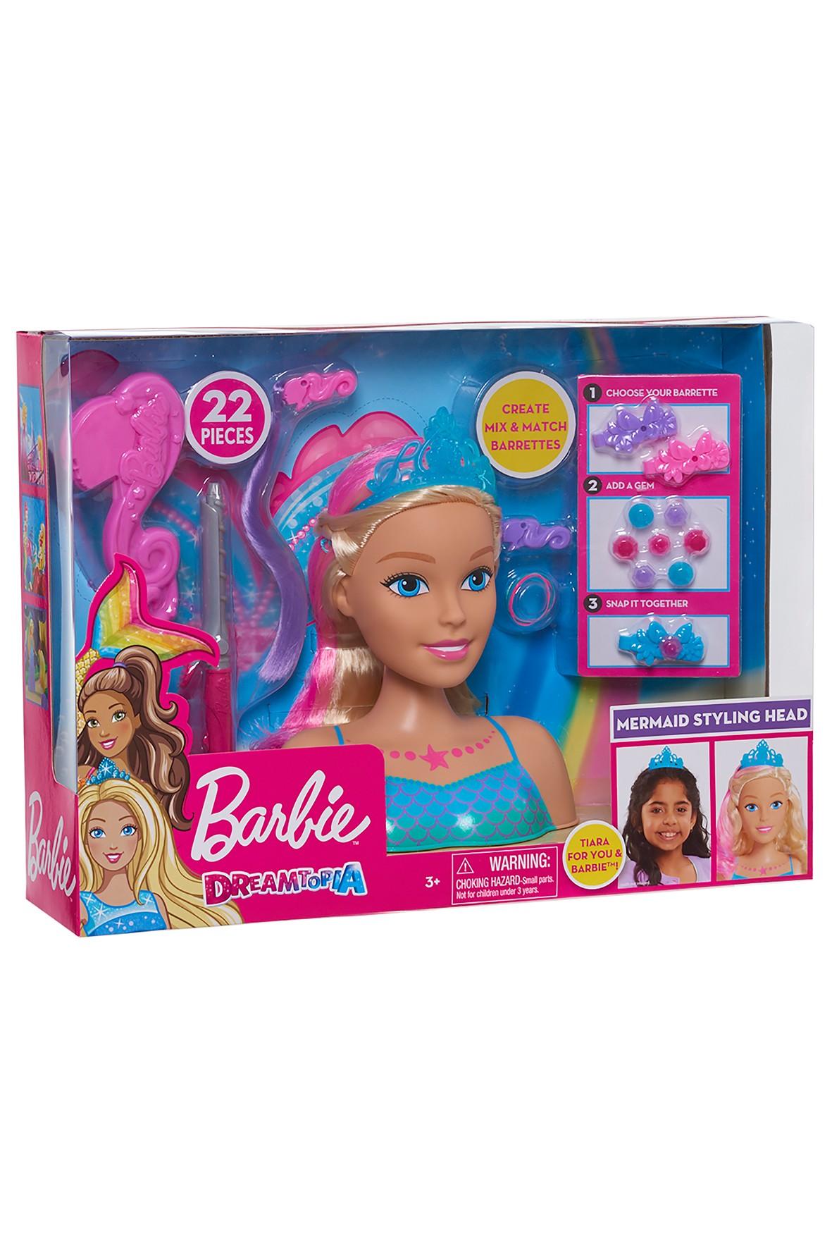 Barbie Głowa do stylizacji wiek 3+