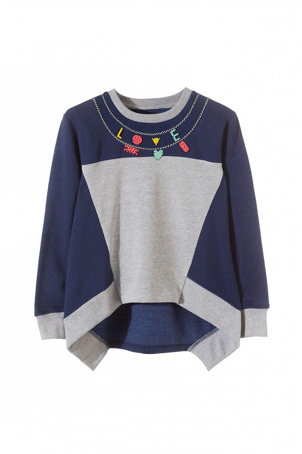 Bluza dresowa dziewczęca 4F3204