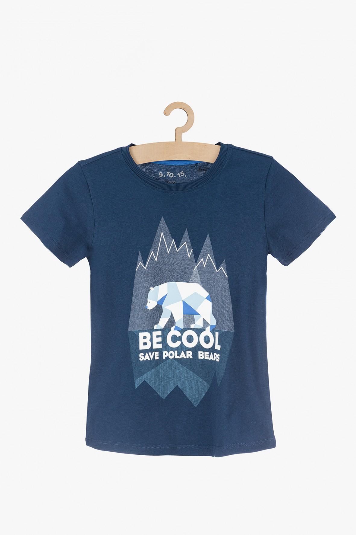 T-shirt dla chłopca- Be Cool