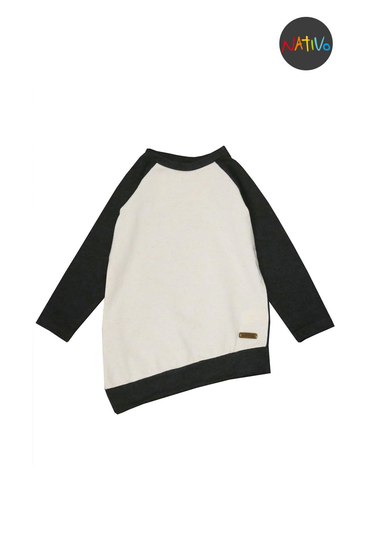 Bluza dresowa dziewczęca