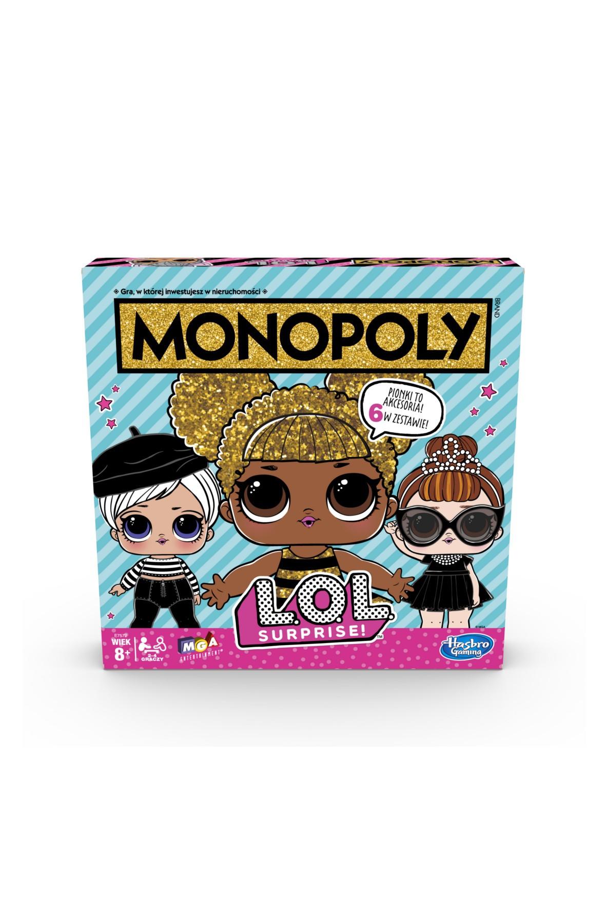 Gra Monopoly LOL 8+