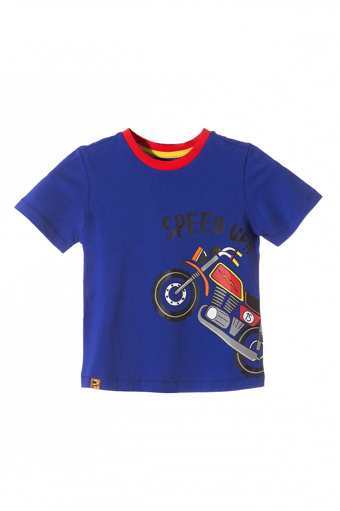 Koszulka chłopięca z motocyklem