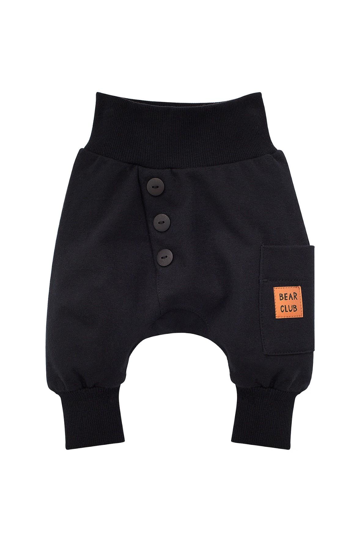 Spodnie - pumpy niemowlęce czarne Bears Club