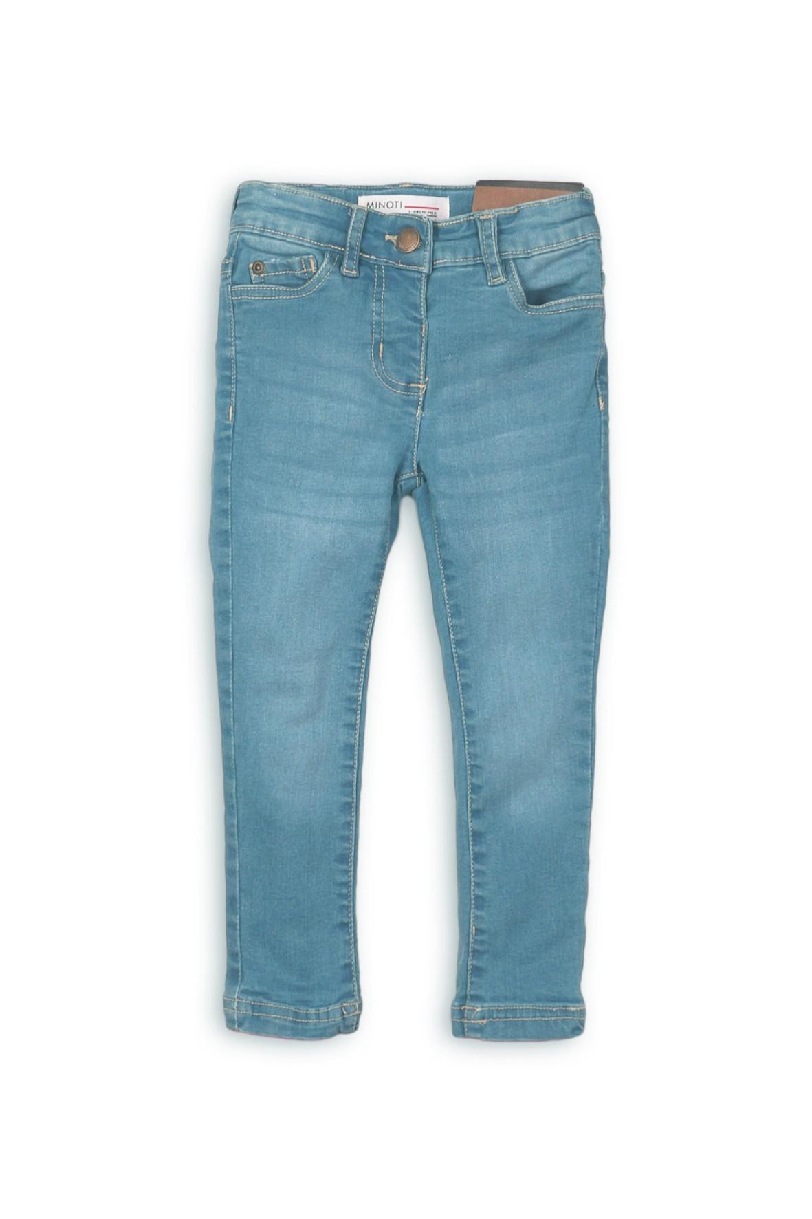 Spodnie dziewczęce jeansowe rurki