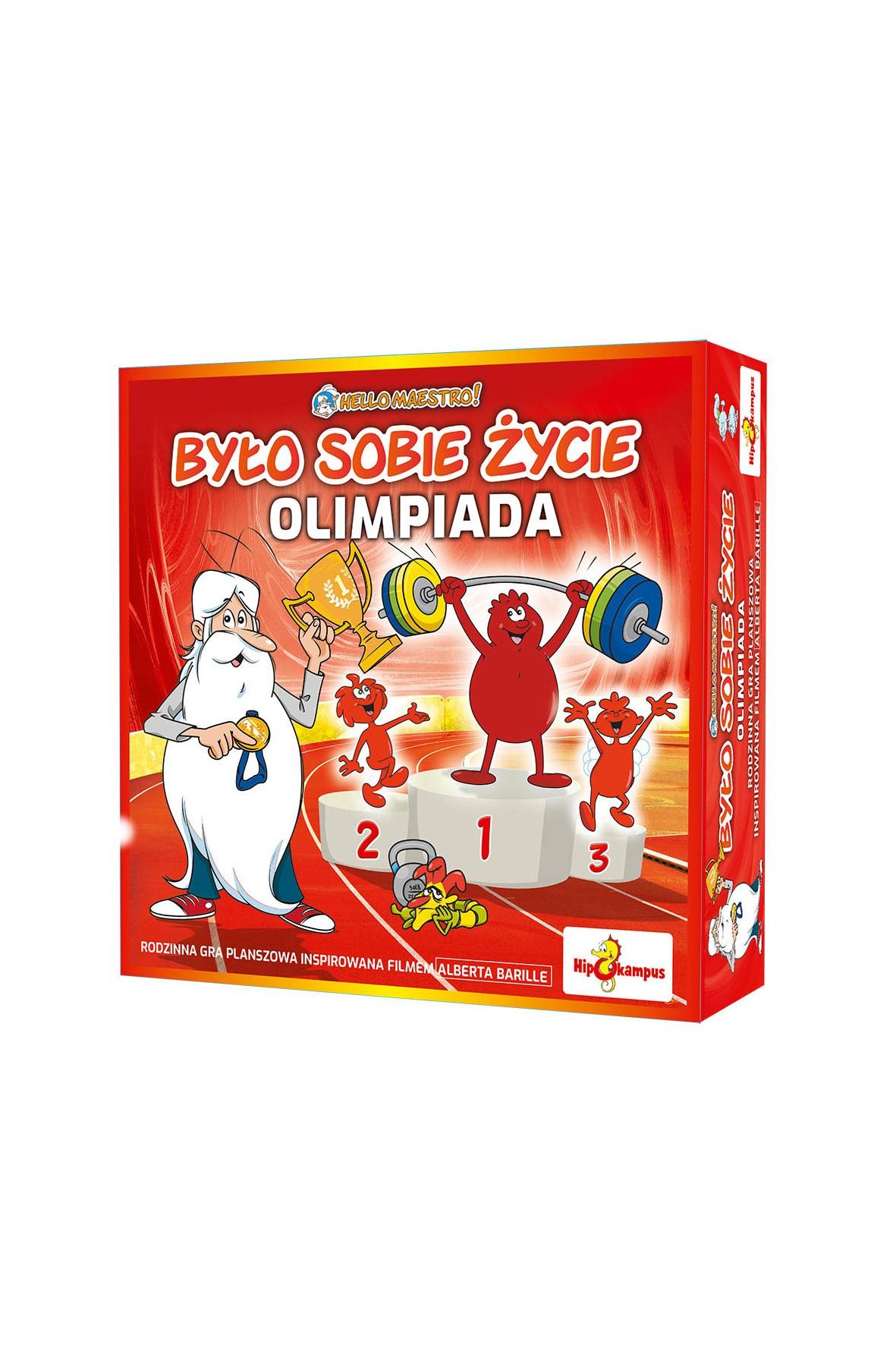 Gra planszowa - Było sobie życie - Olimpiada wiek 7+
