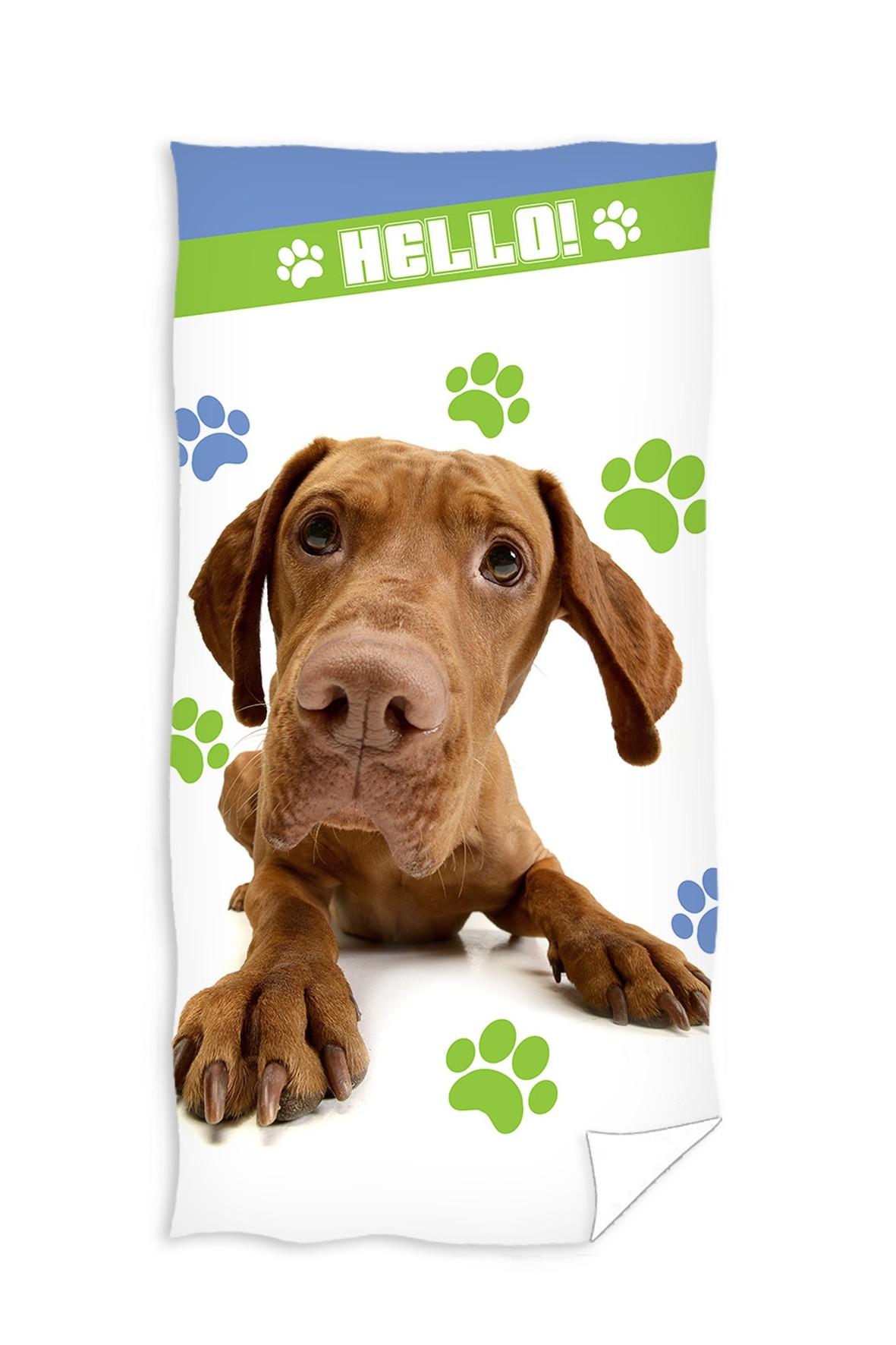 Ręcznik kąpielowy 70x140 cm Pies Dog