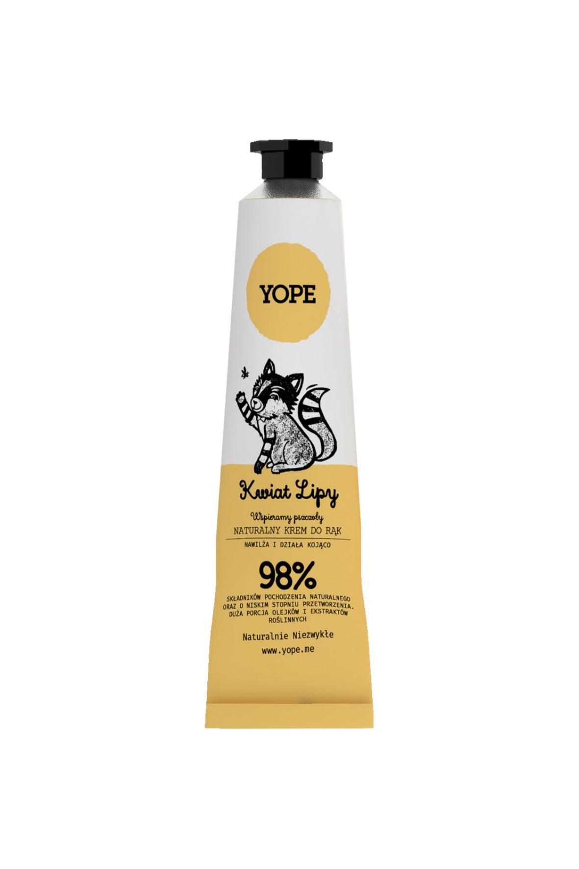 Krem do rąk YOPE - Lipa 50ml