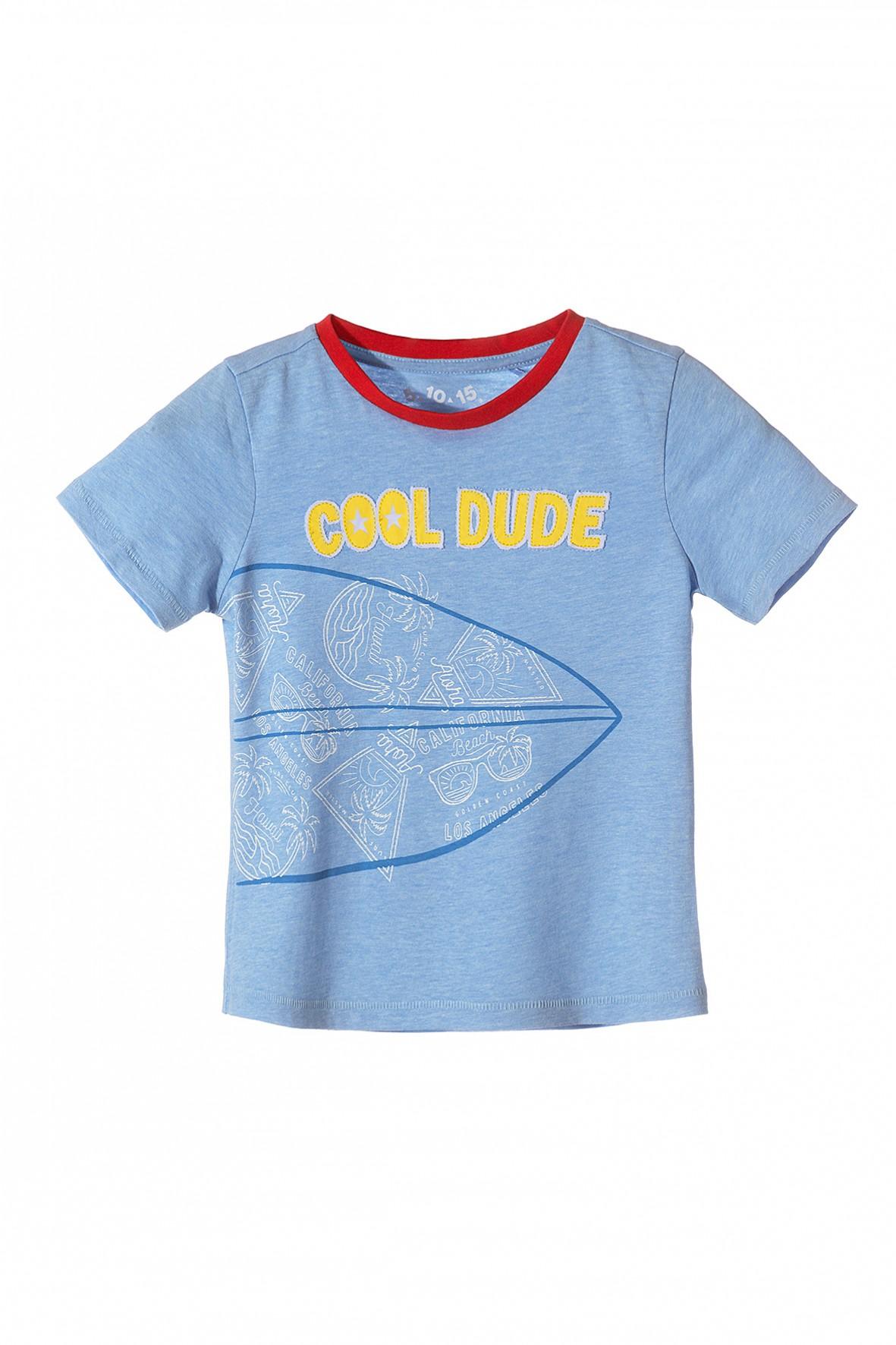 Koszulka chłopięca z krótkim rękawem-cool dude