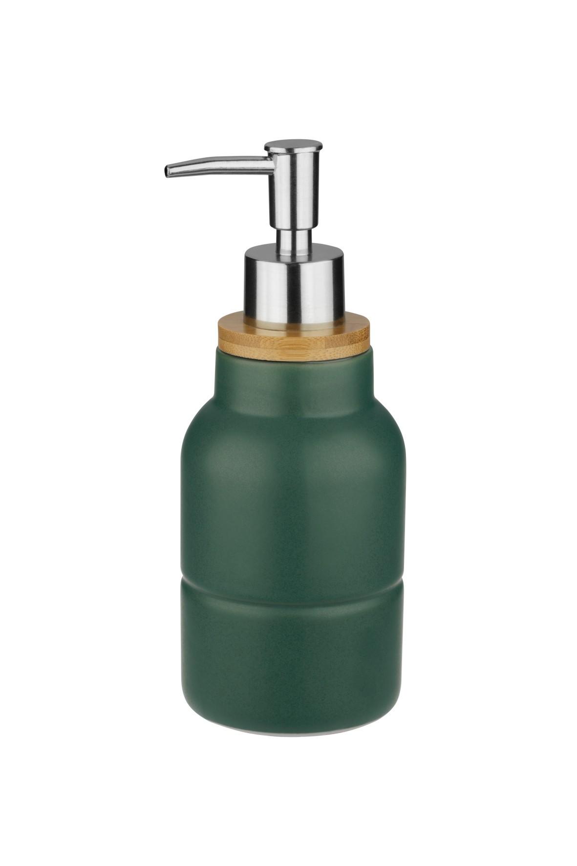 Dozownik na mydło estelle - zielony
