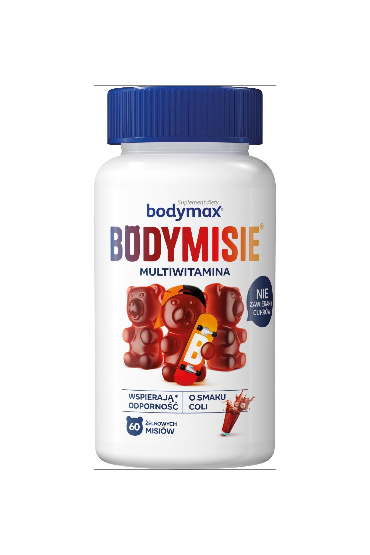 Bodymax BODYMISIE Multiwitamina o smaku coli 60 sztuk