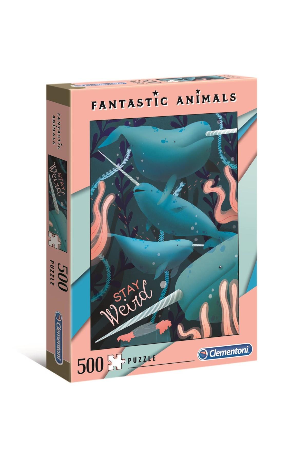 Puzzle  Fantastyczne zwierzęta Jednorożce - 500 el