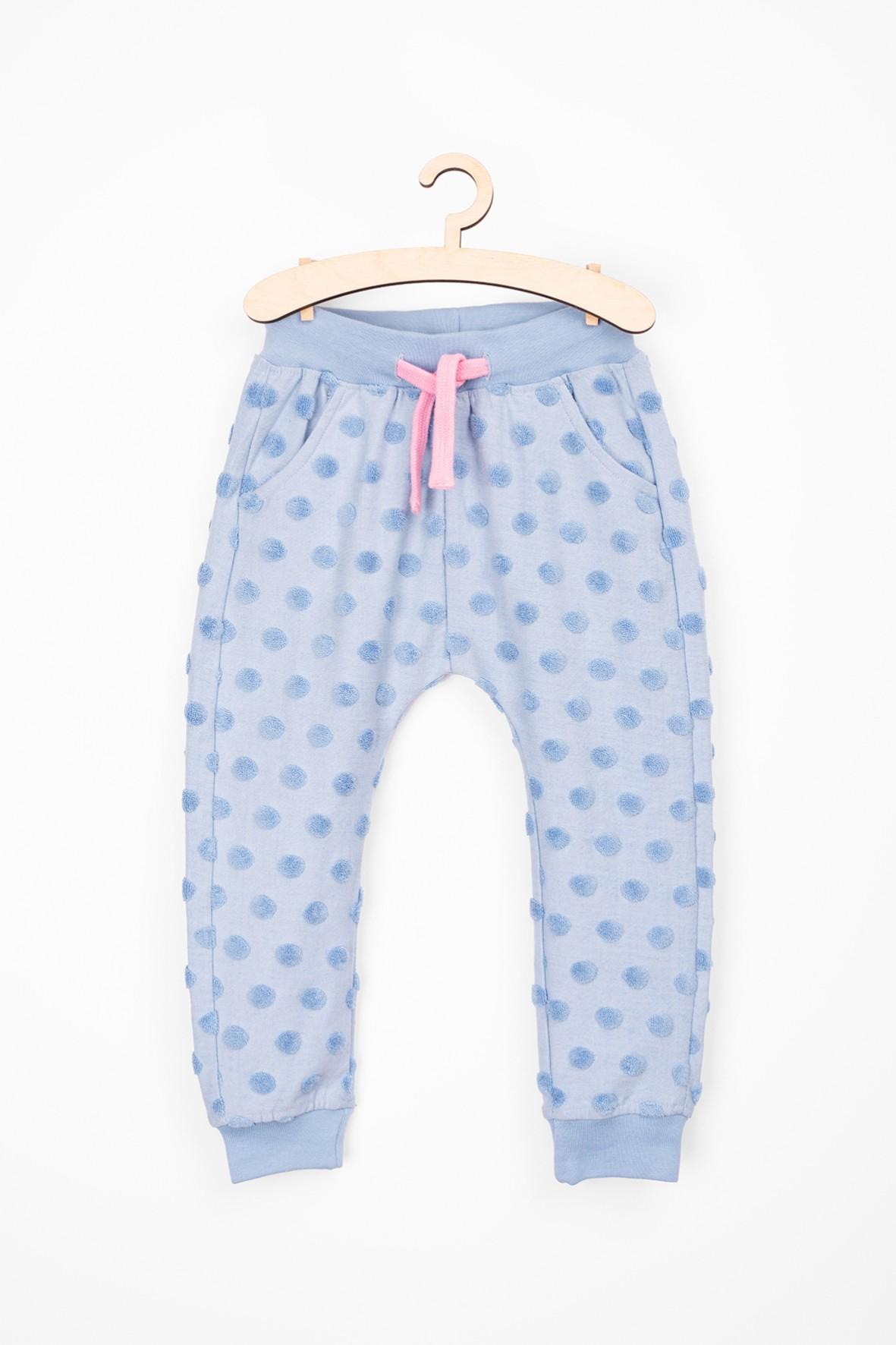 Spodnie dziewczęce dresowe