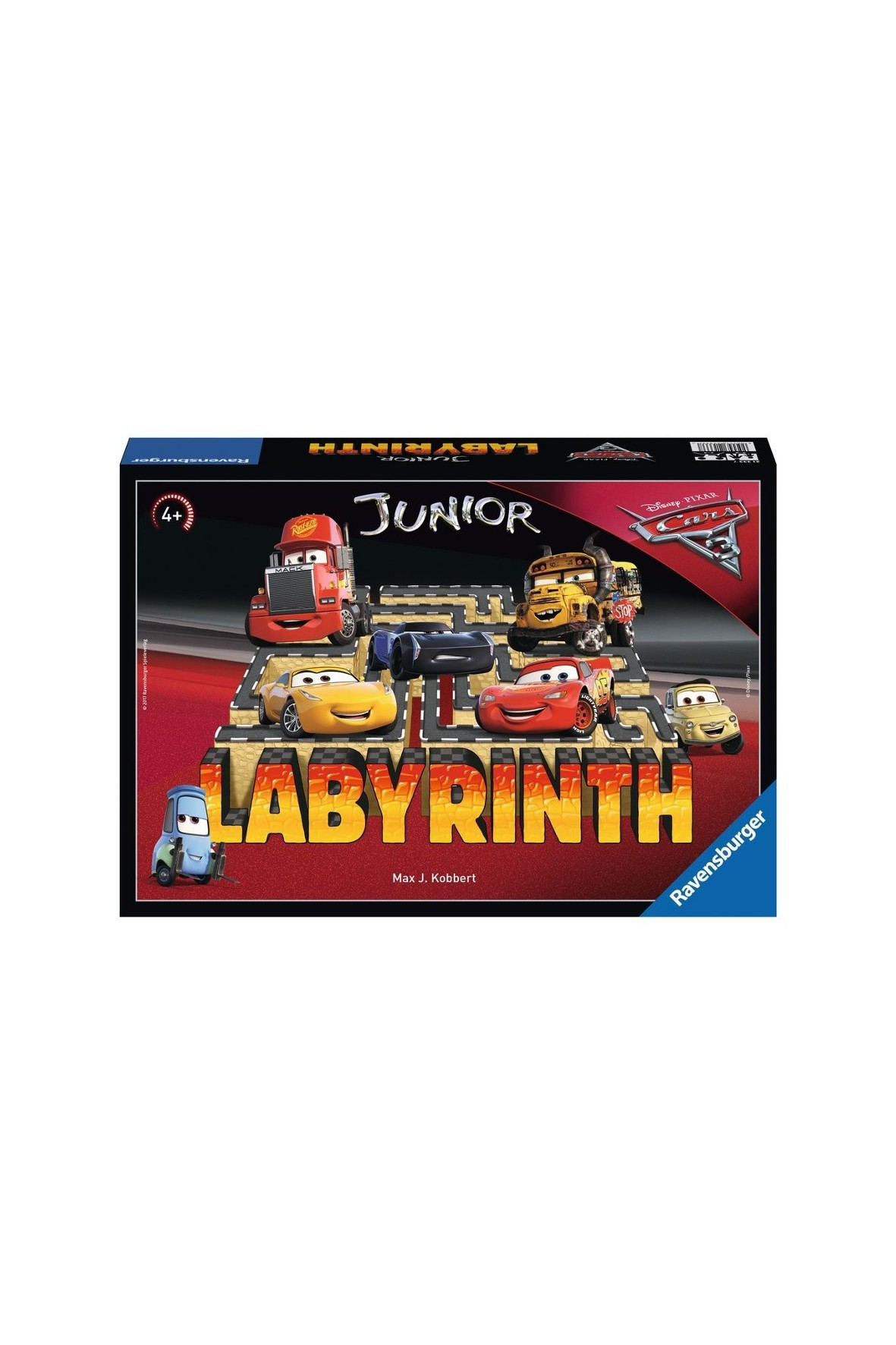 Gra Labirynt Junior - Auta3  4+