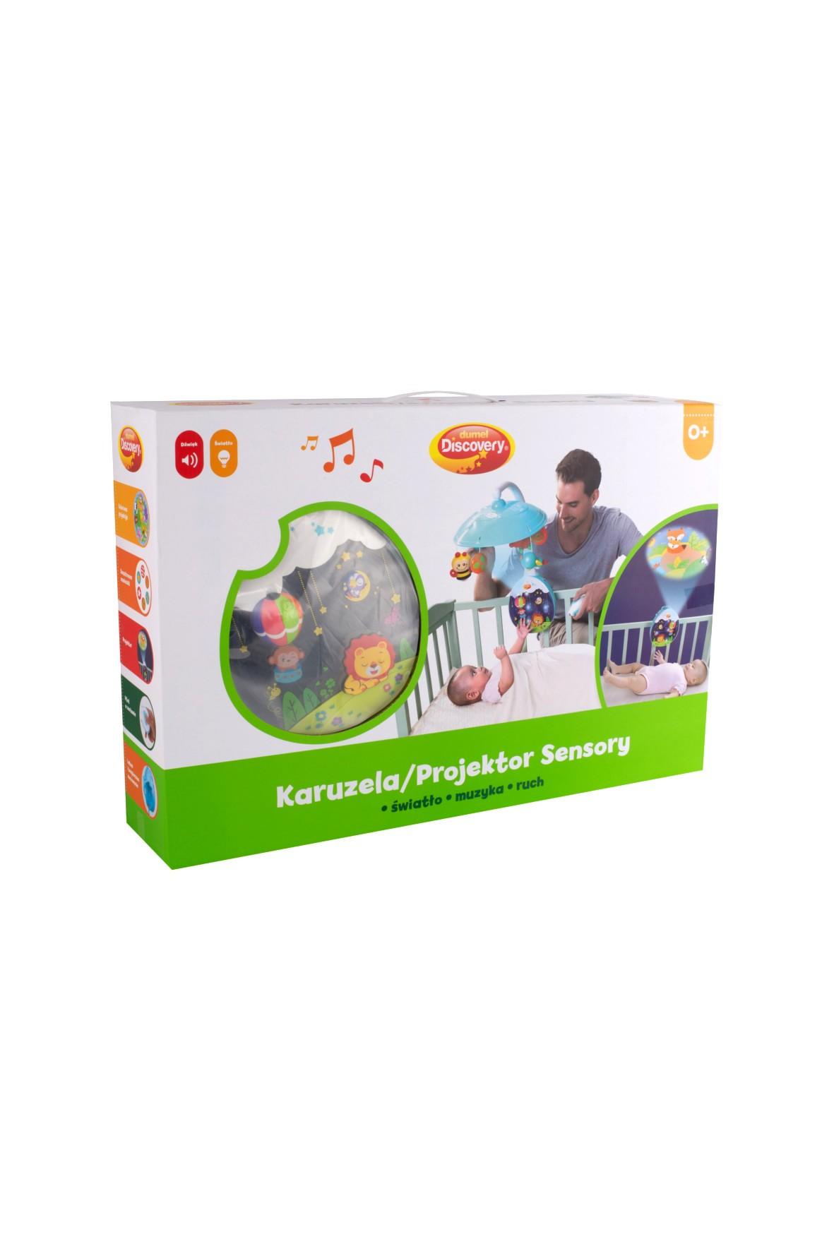 Karuzela-projektor sensory Dumel 0msc+