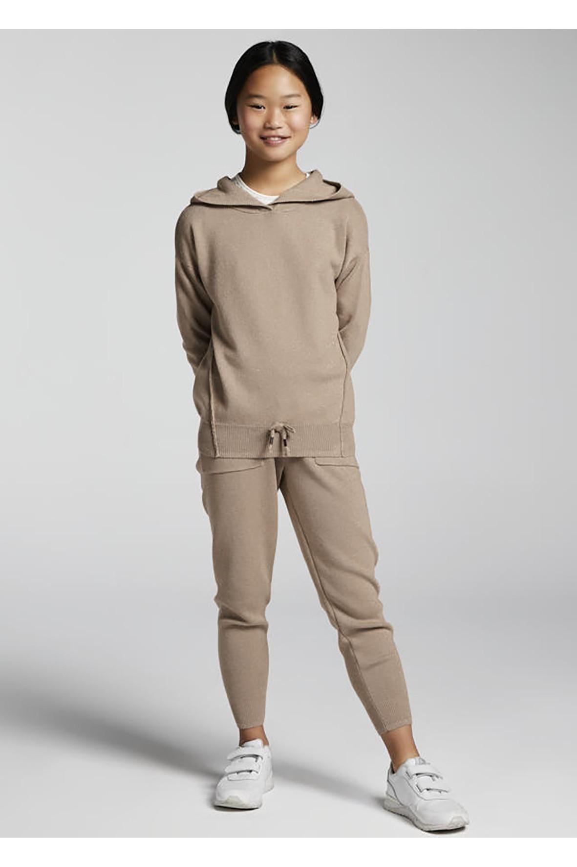 Komplet dresowy - bluza z kapturem i spodnie dresowe rozm128
