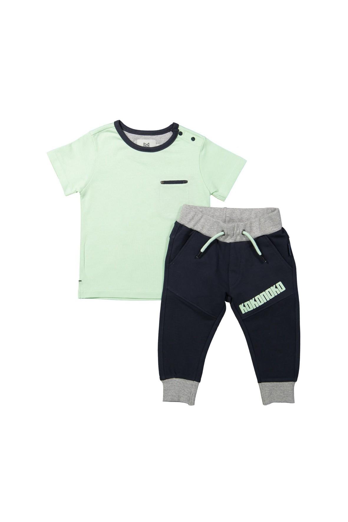 Komplet niemowlęcy bluzka + spodnie