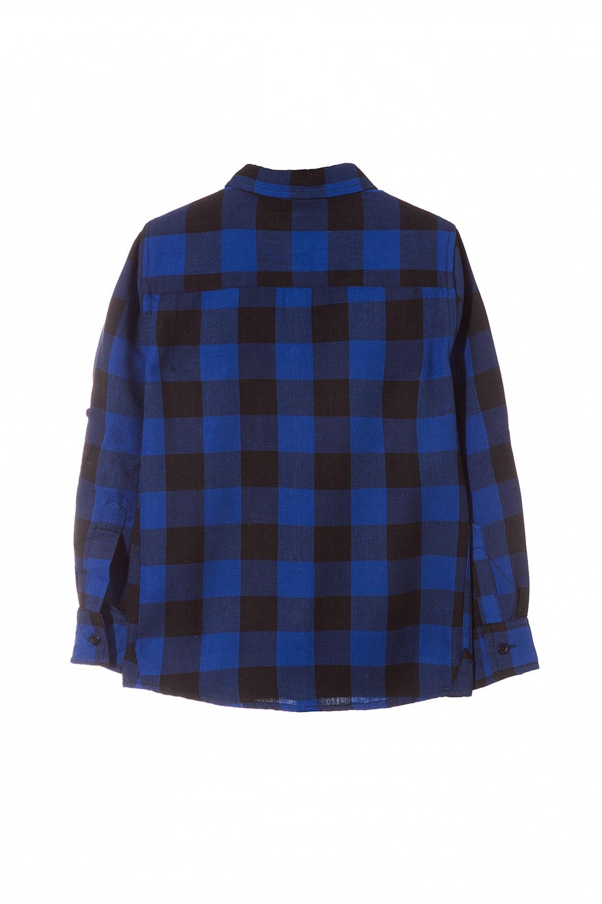 Koszula flanelowa w kratę 2J3516   Sklep 5.10.15  yds39