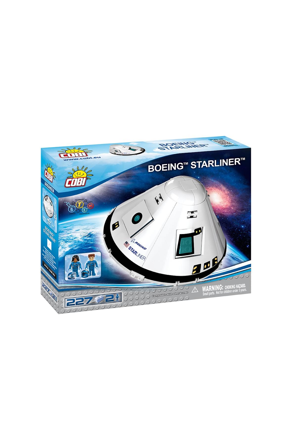 "Klocki Cobi Boeing ""Starliner"" 227el"