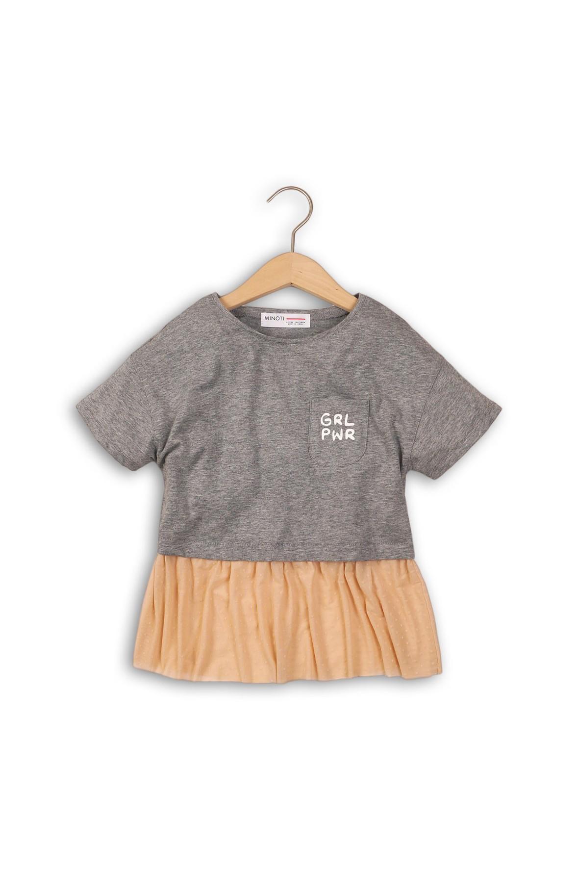 T-shirt dziewczęcy