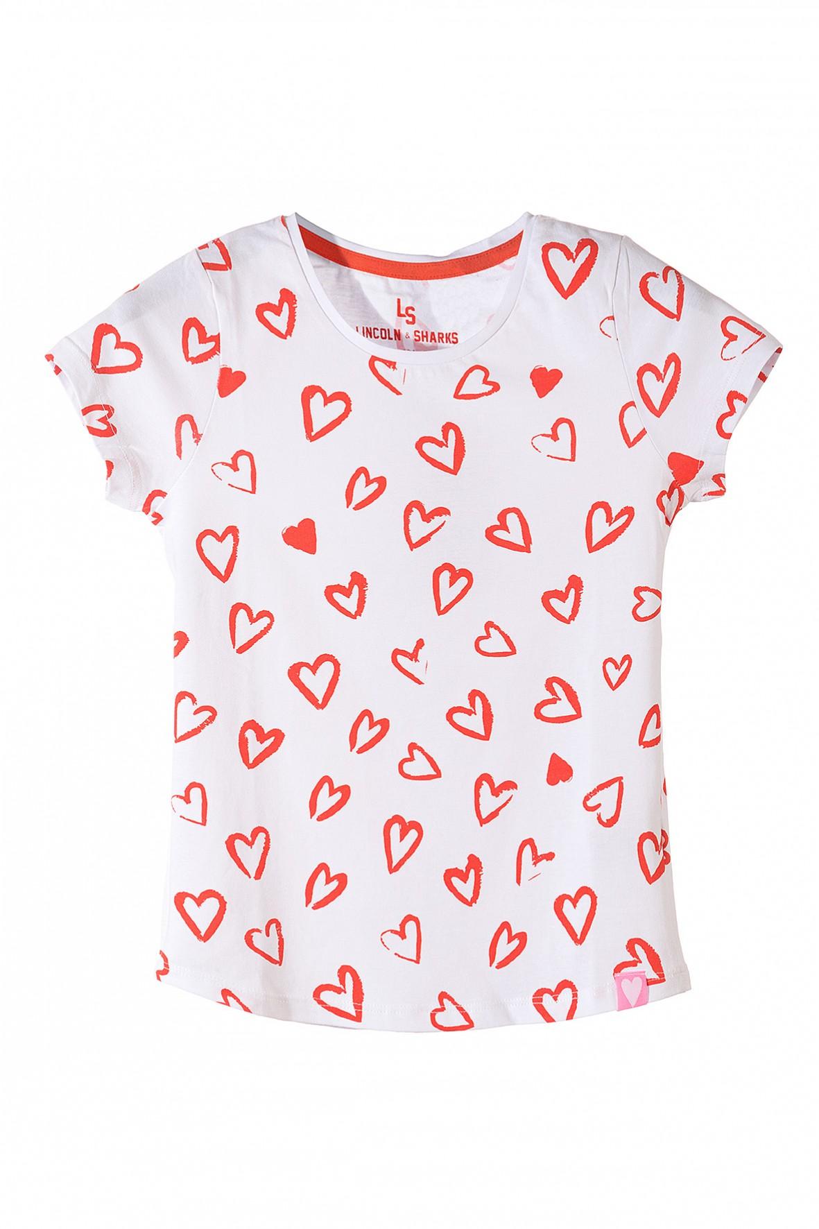 Koszulka dziewczęca bawełniana