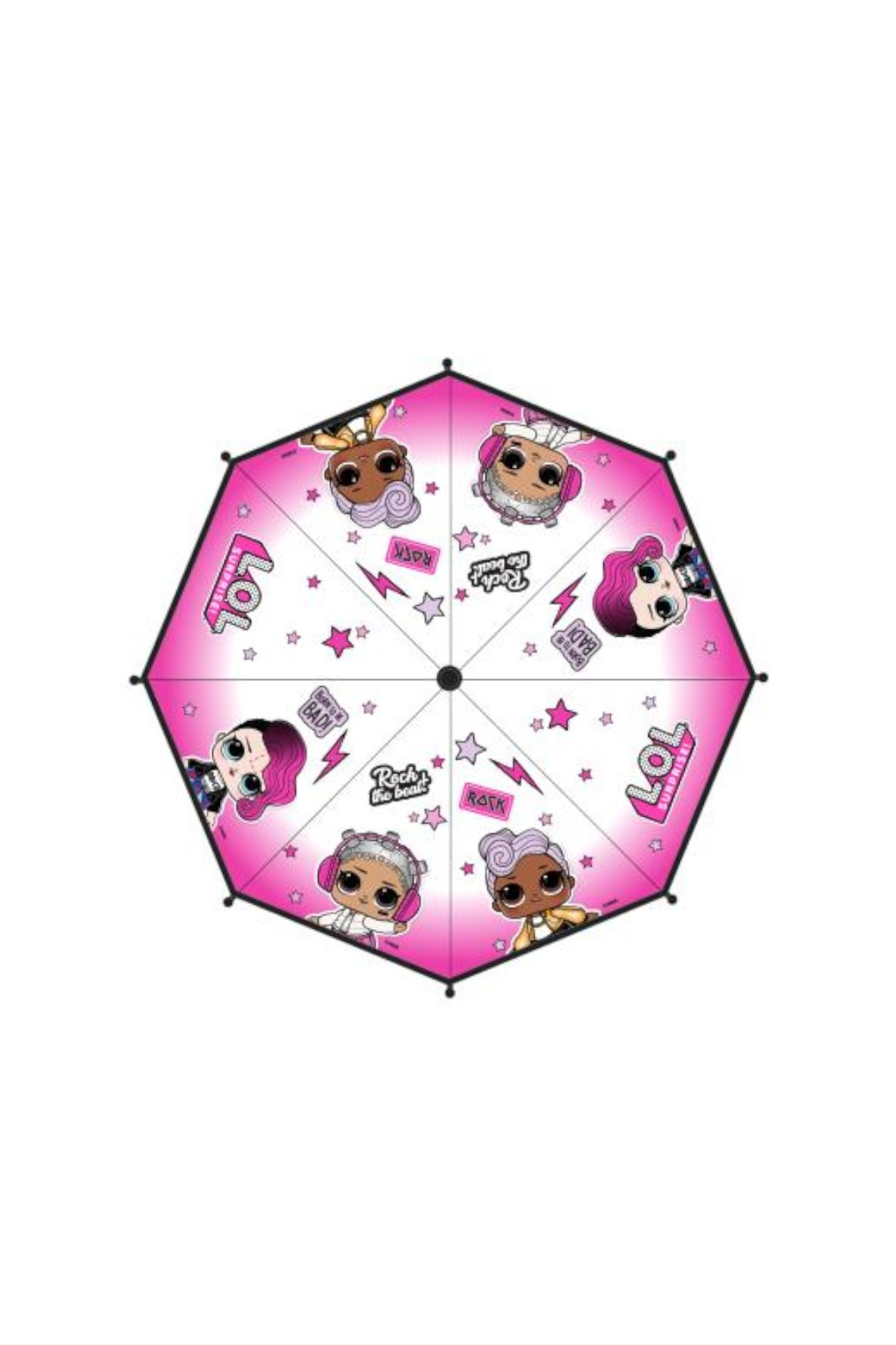 Parasolka dziewczęca L.O.L. Surprise różowa