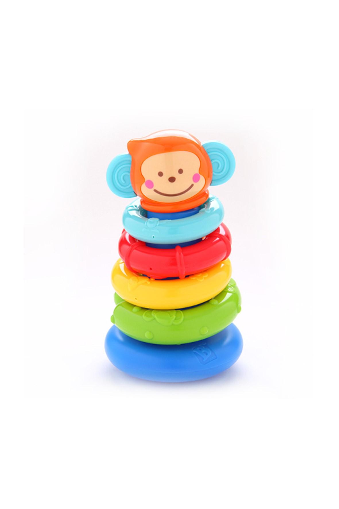 Piramidka Małpka kolorowe kółka